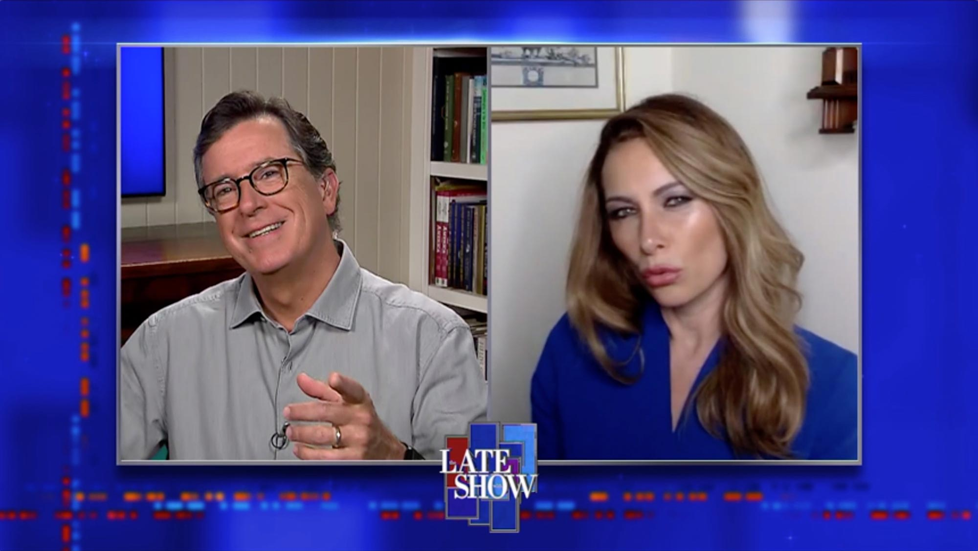 The Late Show with Stephen Colbert- Laura Benanti as Melania Trump
