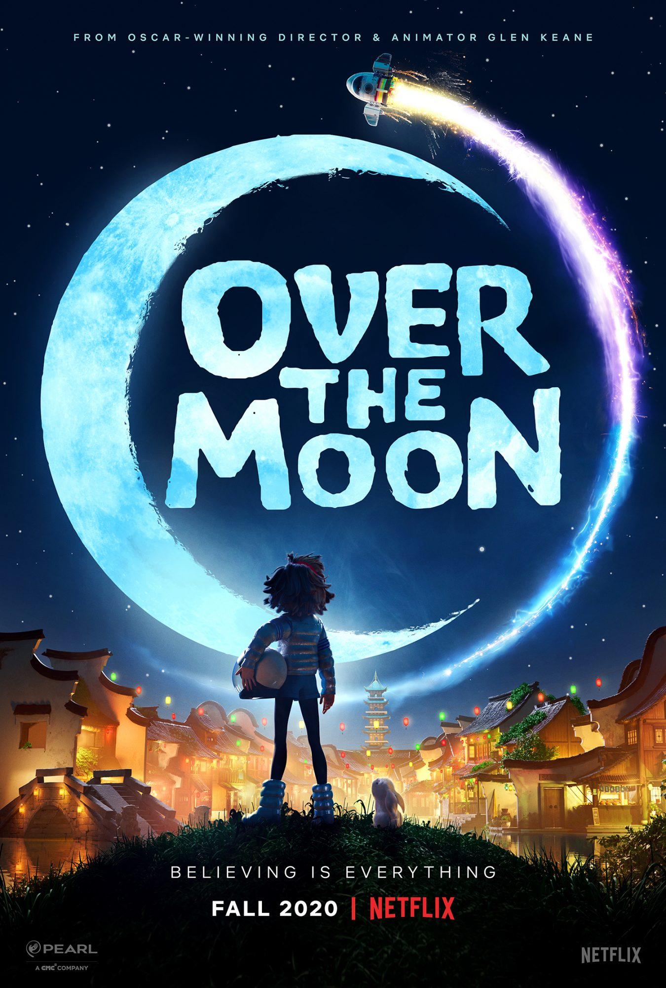 over the moon netflix poster
