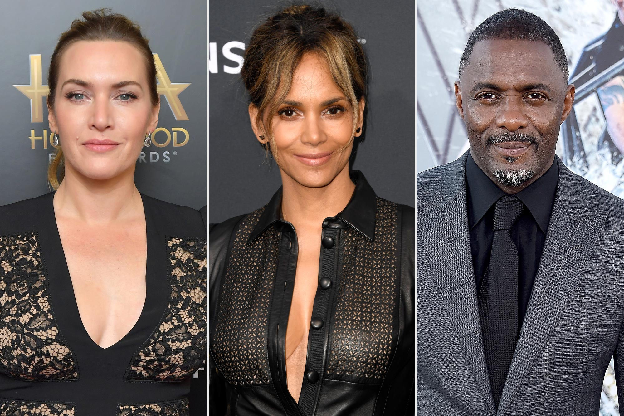 Kate Winslet; Halle Berry; Idris Elba