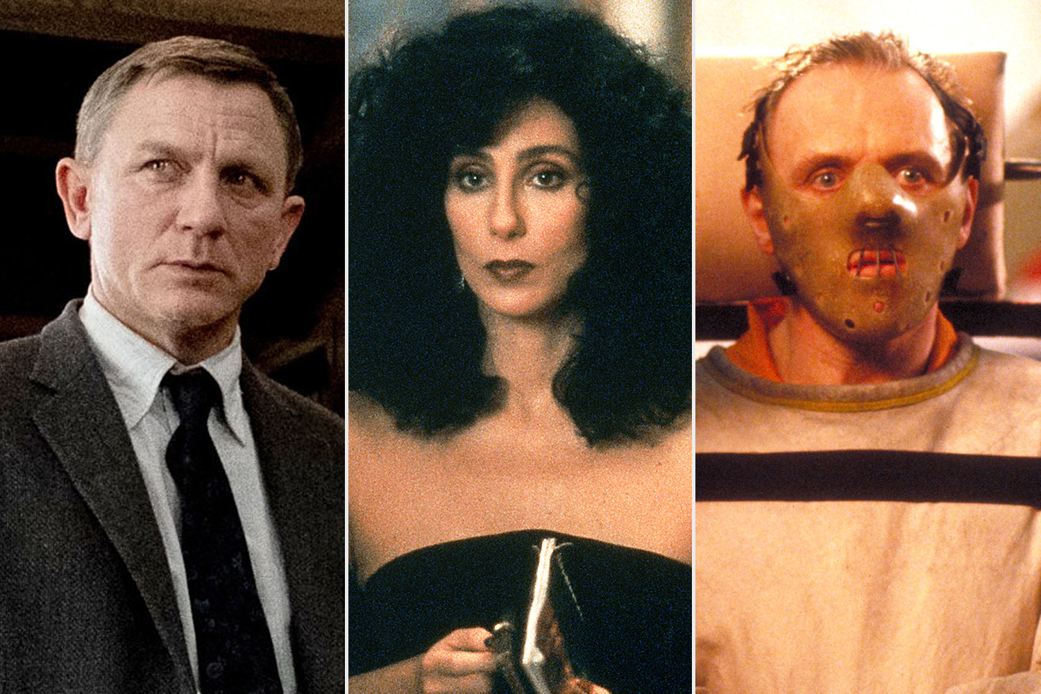 Knives Out; Moonstruck; Silence of the lambs