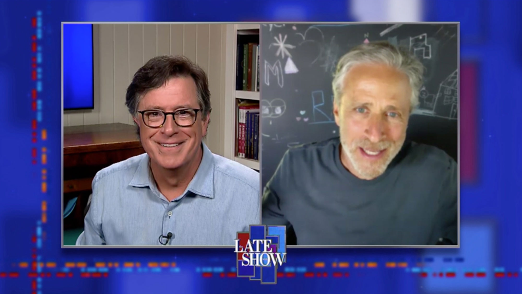The Late Show with Stephen Colbert and Jon Stewart