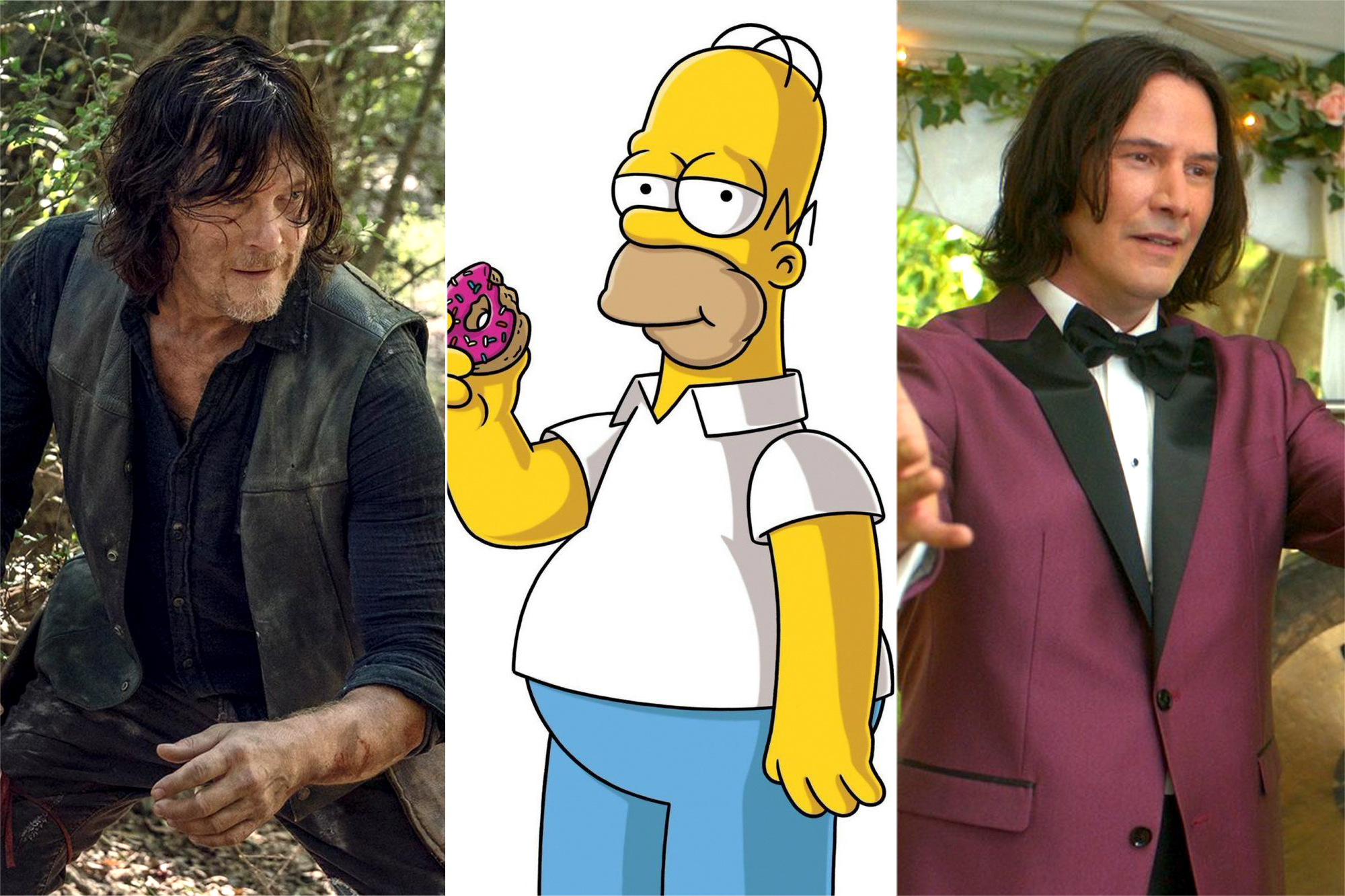 The Walking Dead, The Simpsons, Bill and Ted Face the Music