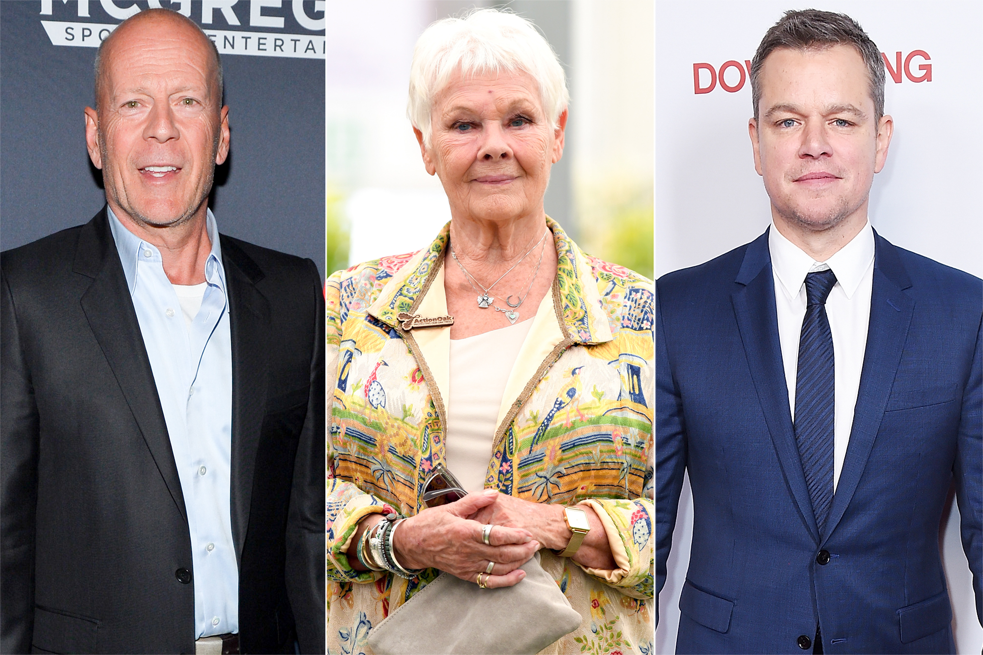 Bruce Willis, Judi Dench, Matt Damon