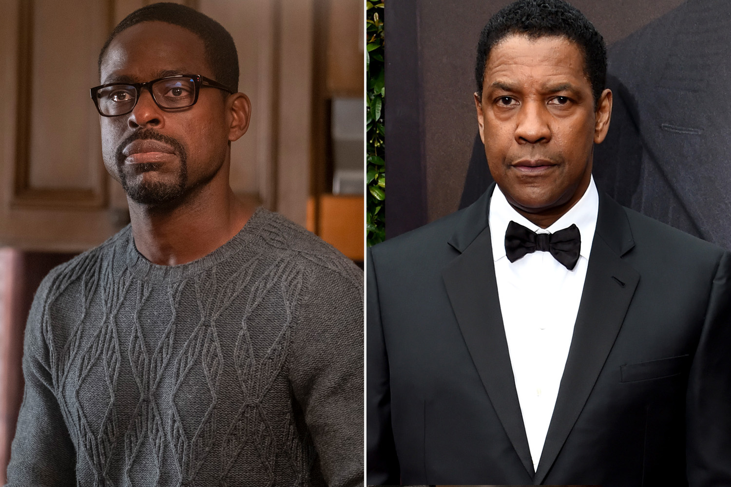 Sterling K. Brown; Denzel Washington