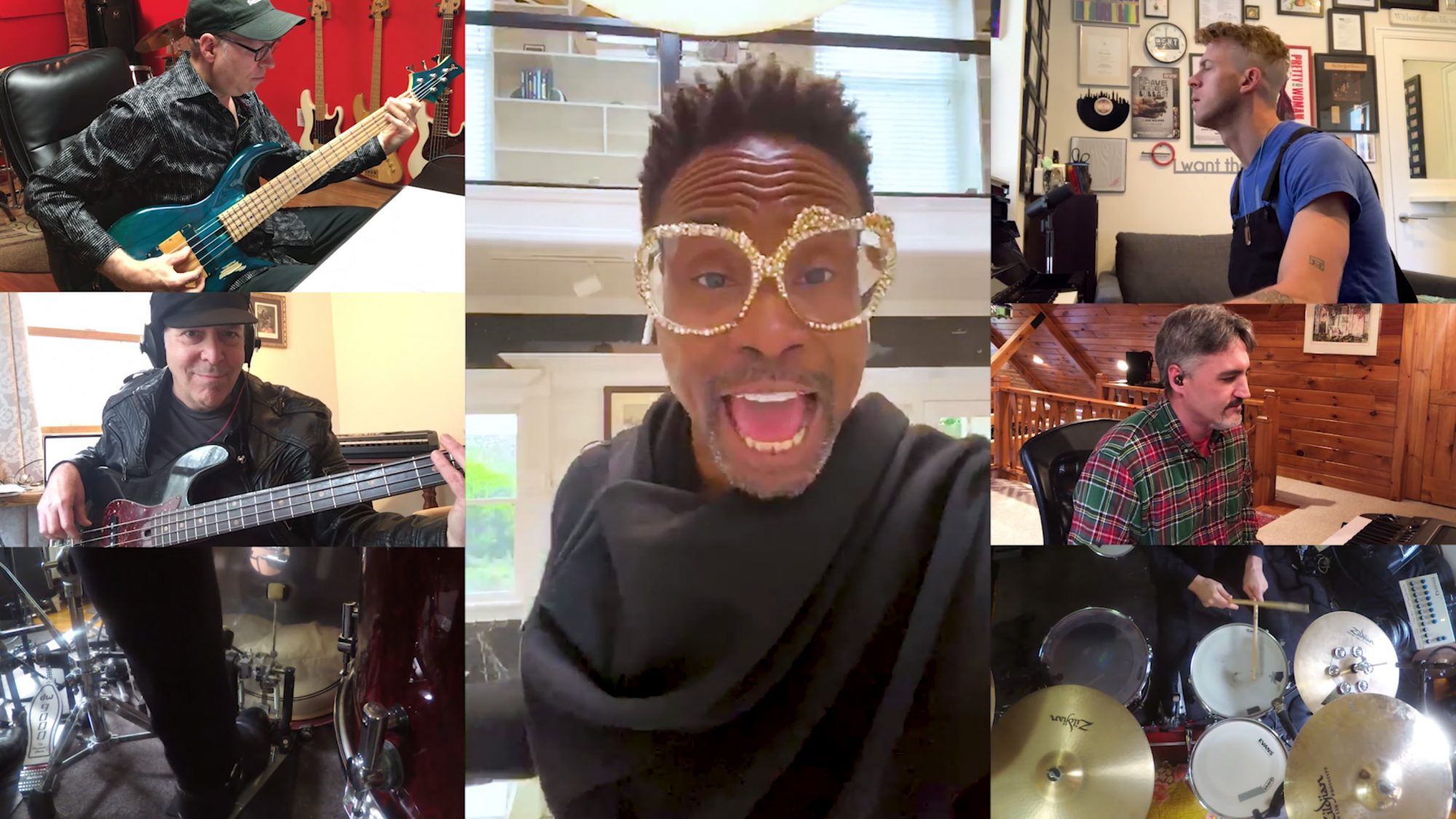 Billy Porter and Kinky Boots cast reunites