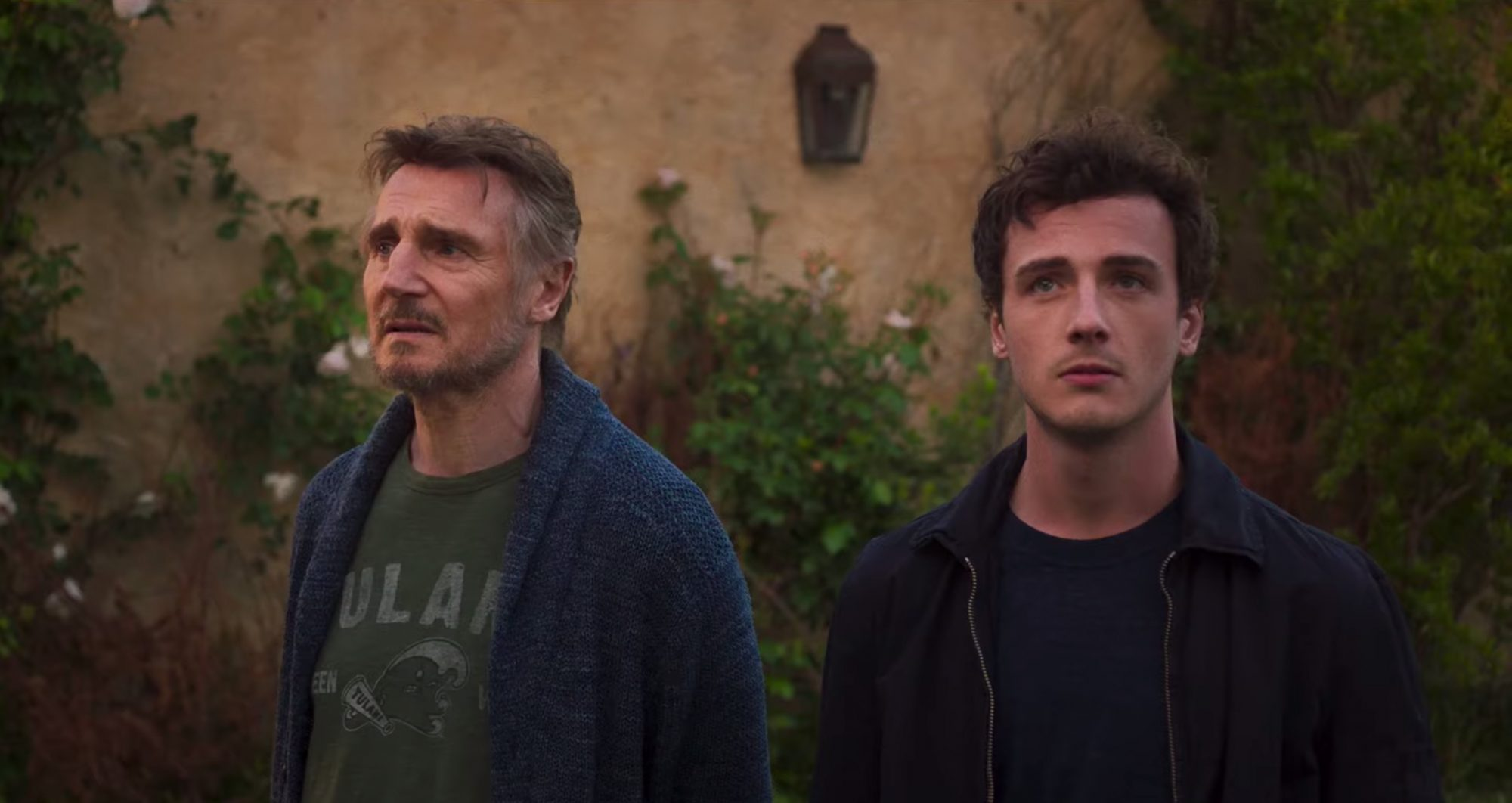 Liam Neeson and Micheál Richardson in James D'Arcy's MADE IN ITALY