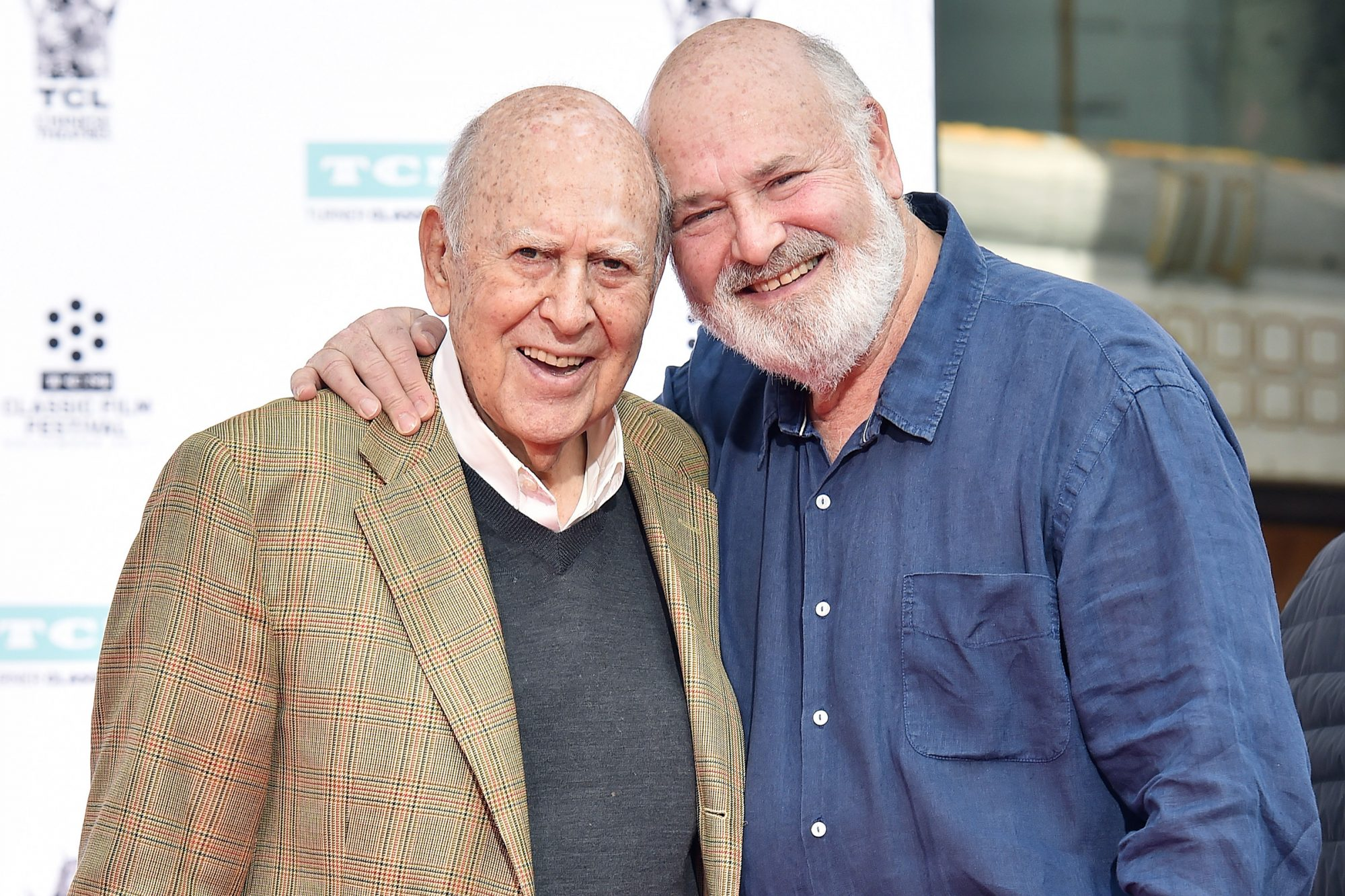 Carl Reiner And Rob Reiner