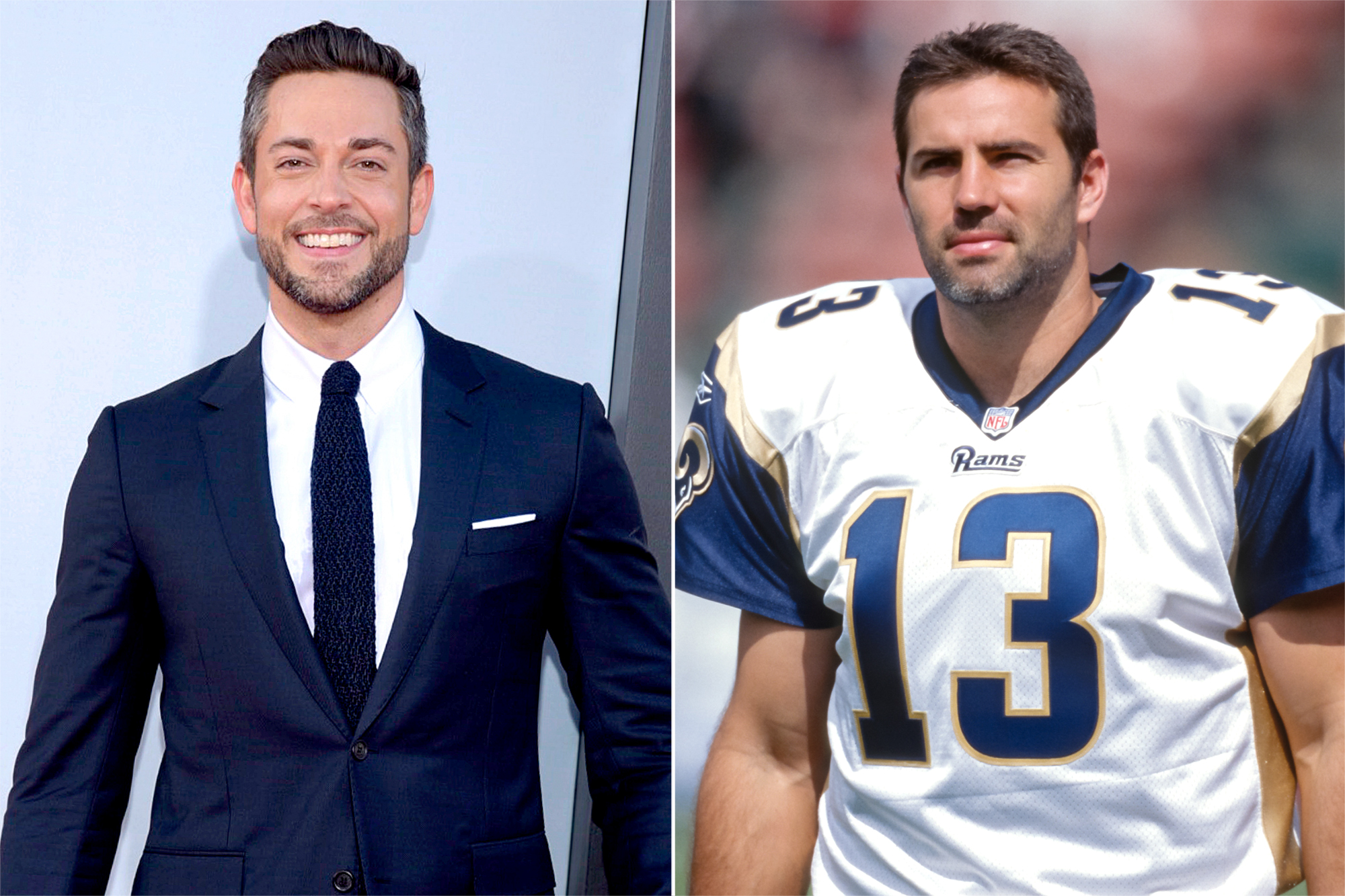Zachary Levi, Kurt Warner