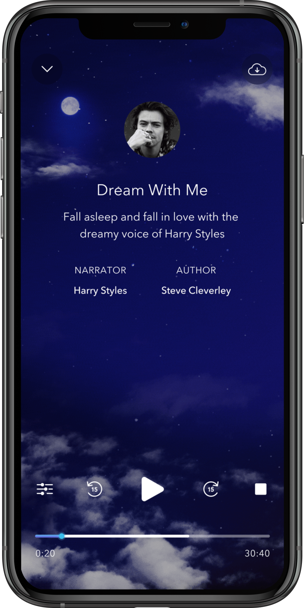 harry styles calm sleep story