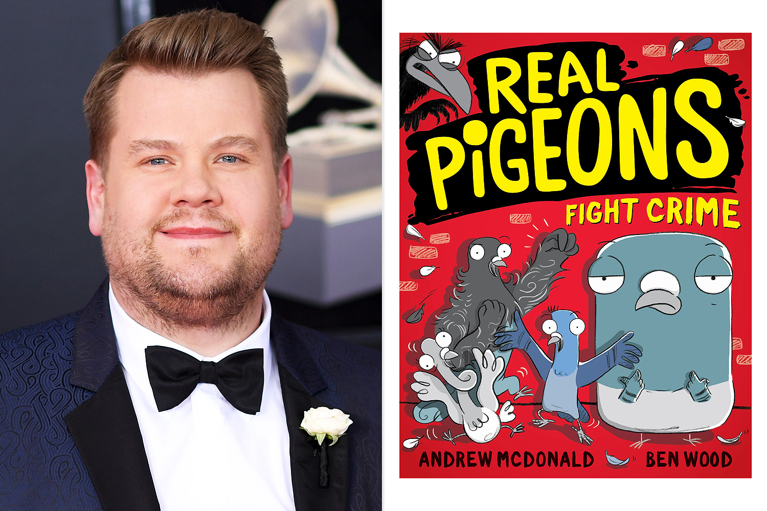 James Corden; Real Pigeons Fight Crime