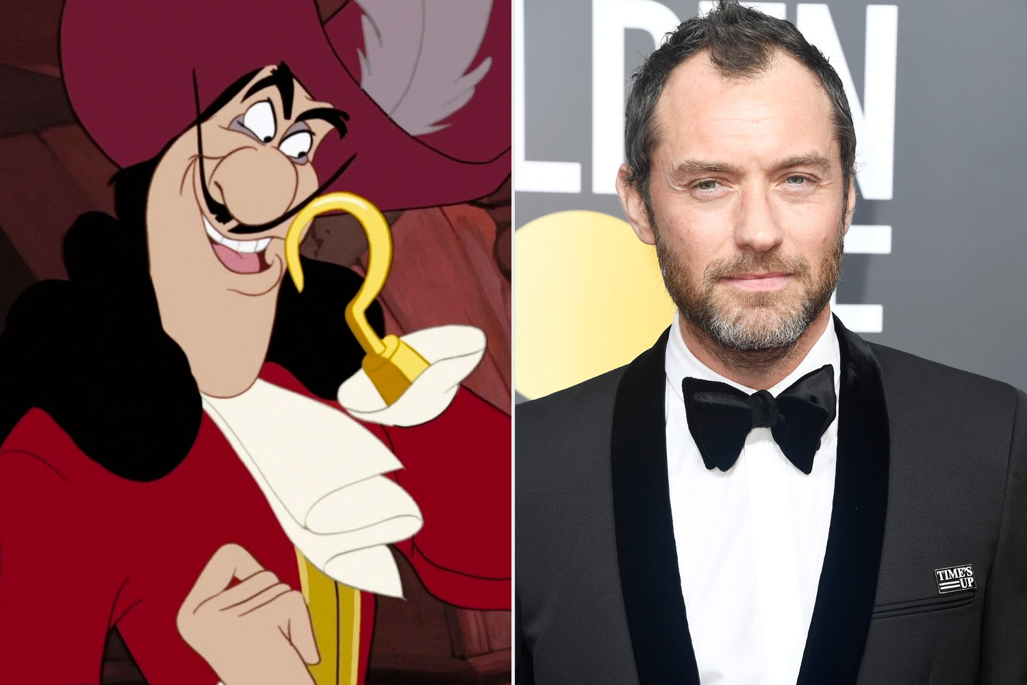 captain hook; jude law