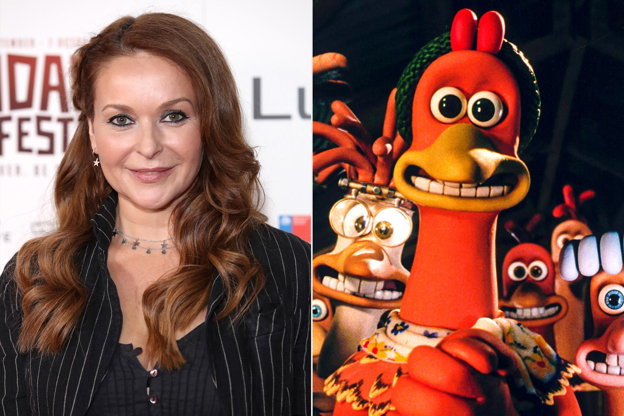 Julia Sawalha; Chicken Run