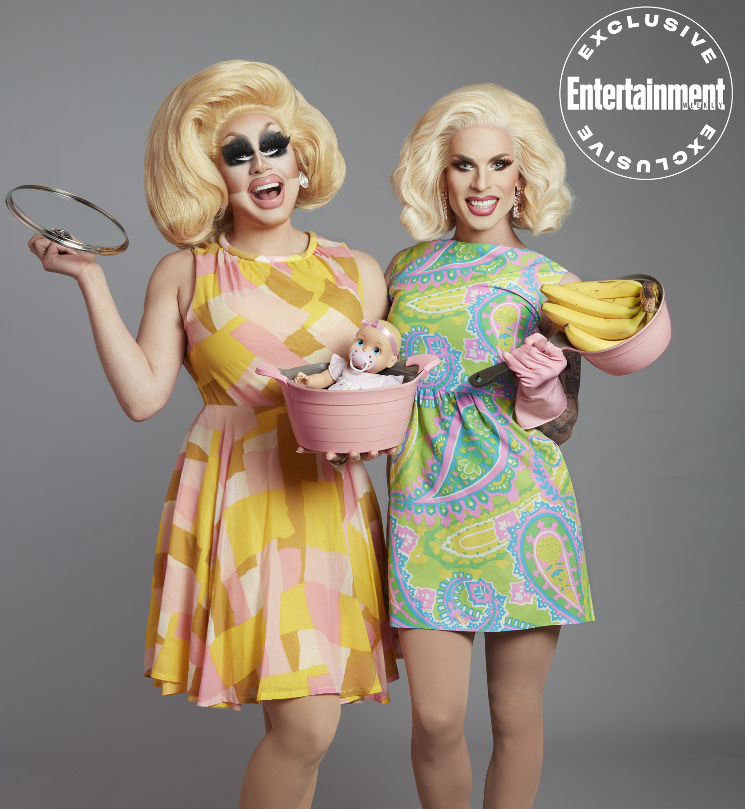 Trixie + Katya exclusive