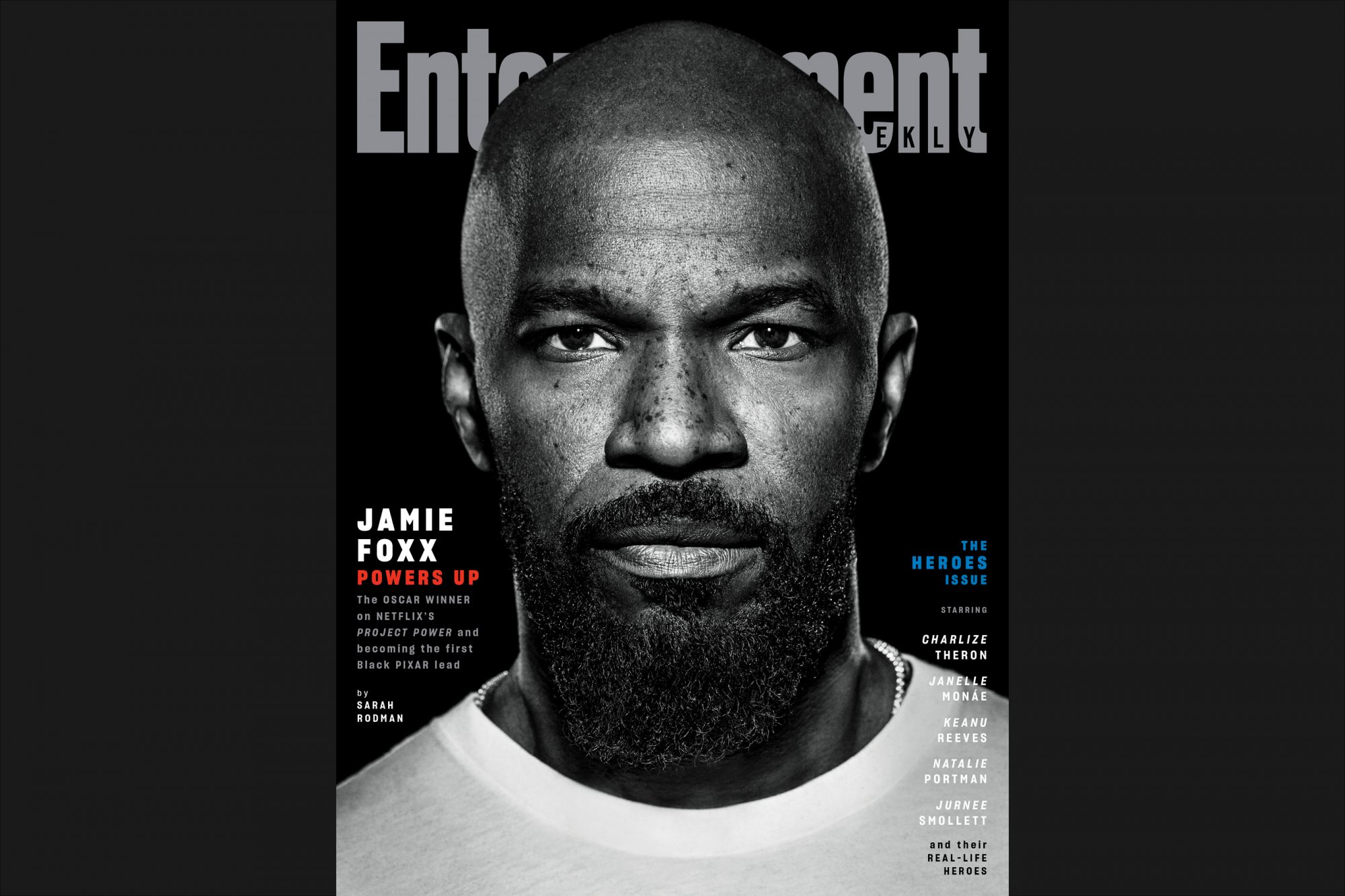 Jamie Foxx Project Power Portraits