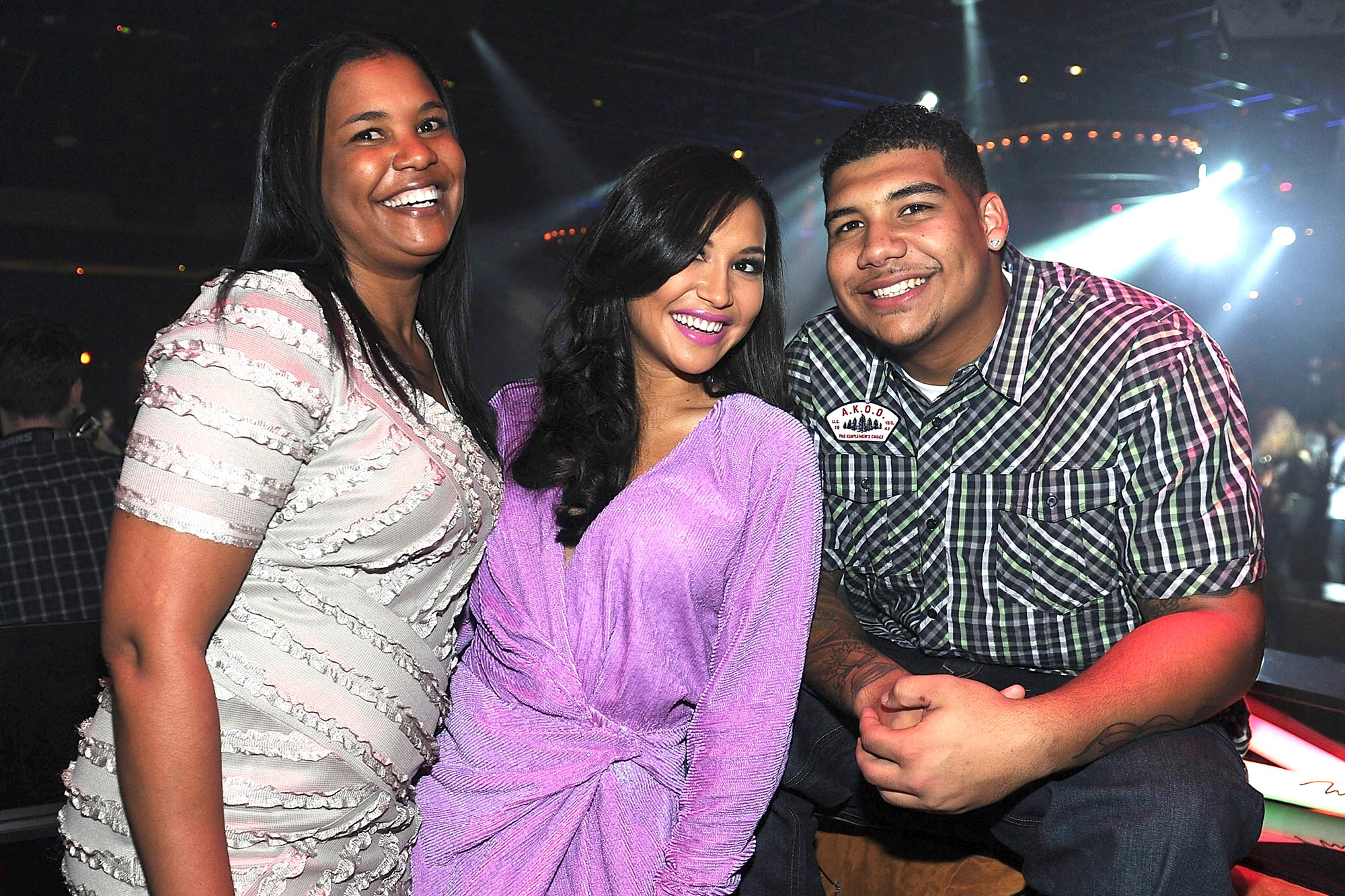 Yolanda Rivera, Naya Rivera and Mychal Rivera