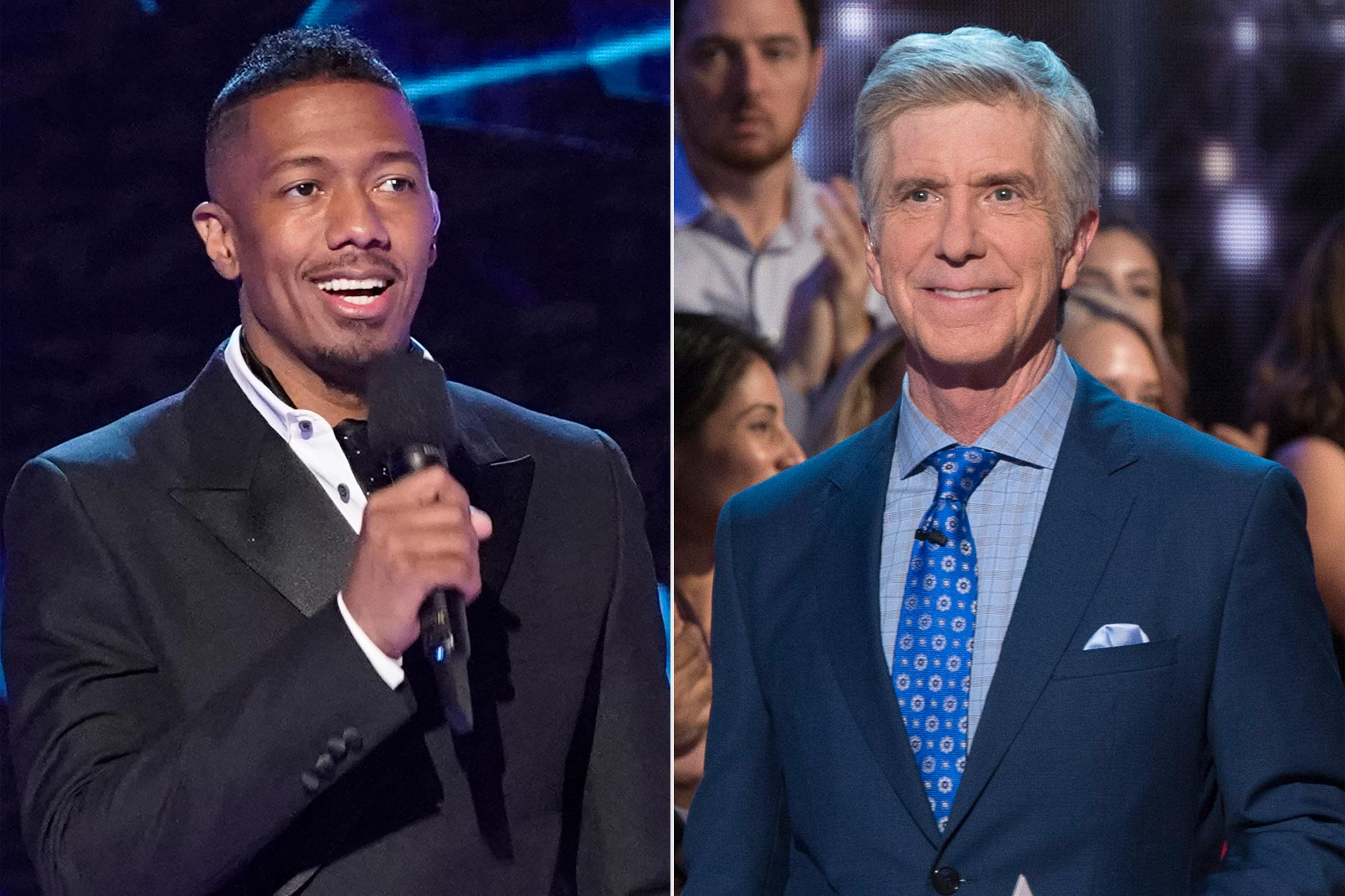 Nick Cannon Tom Bergeron