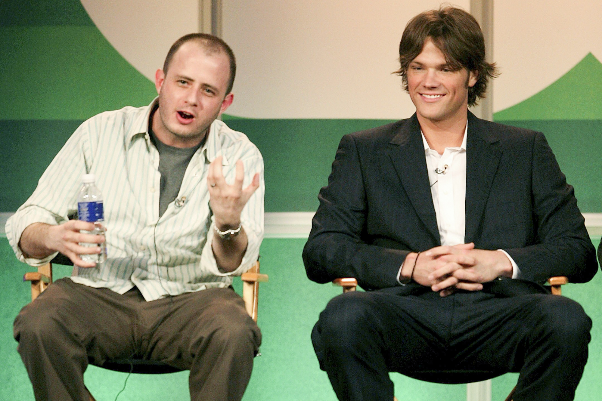 Eric Kripke and Jared Padalecki