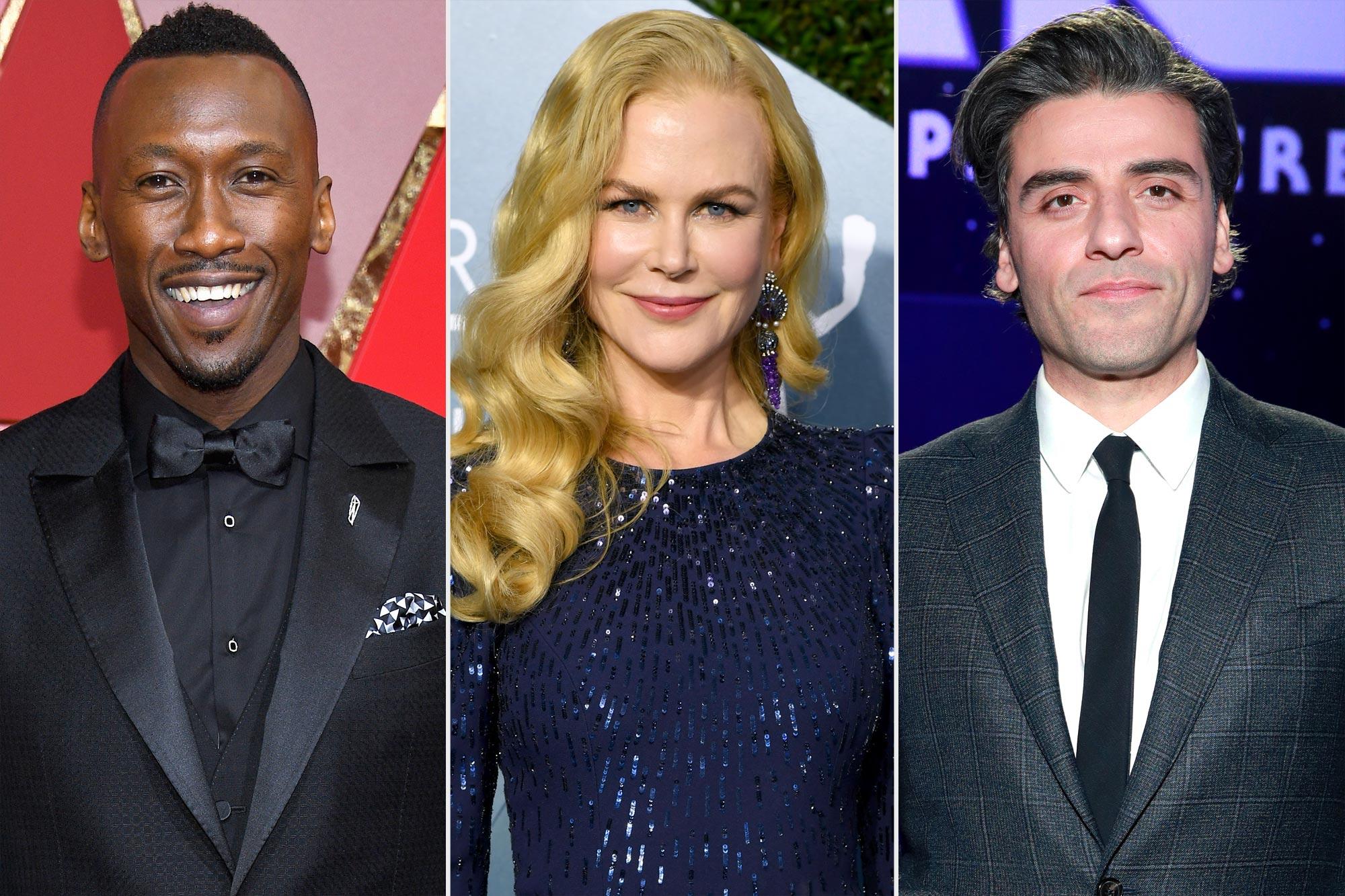 MahMahershala Ali, Nicole Kidman, and Oscar Isaac