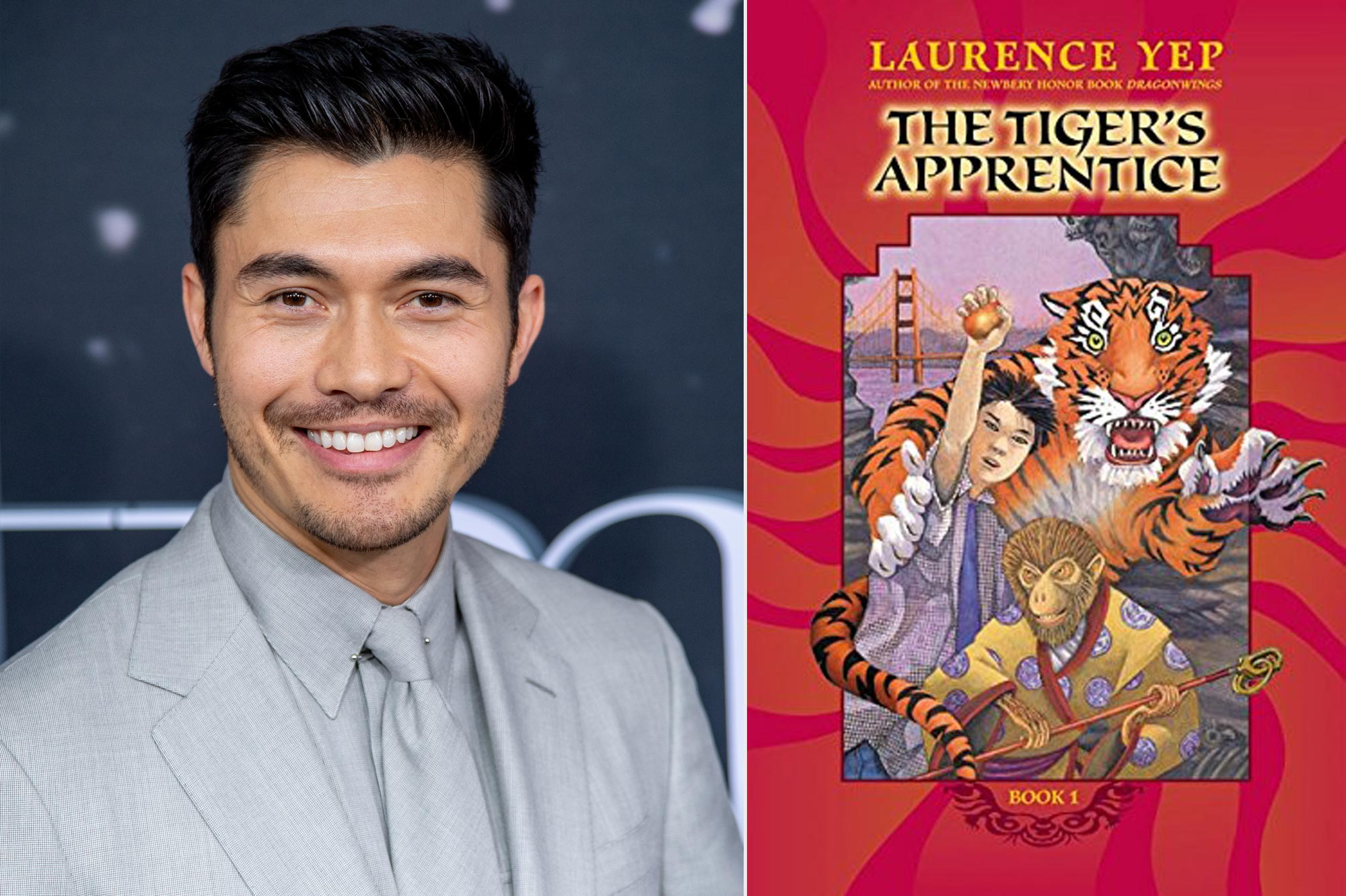 Henry Golding; The Tiger's Apprentice by Laurence Yep