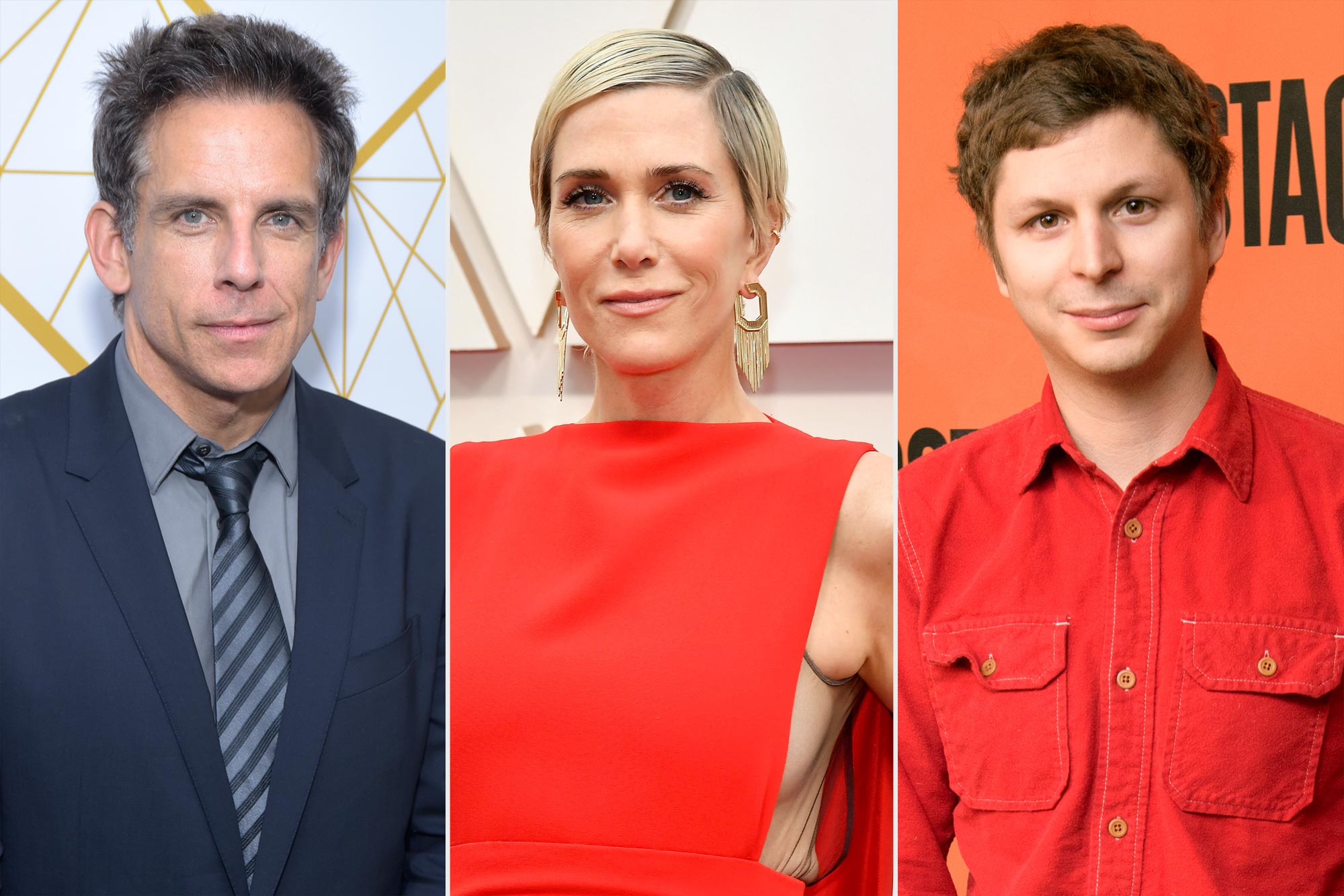 Ben Stiller, Kristen Wiig, and Michael Cera