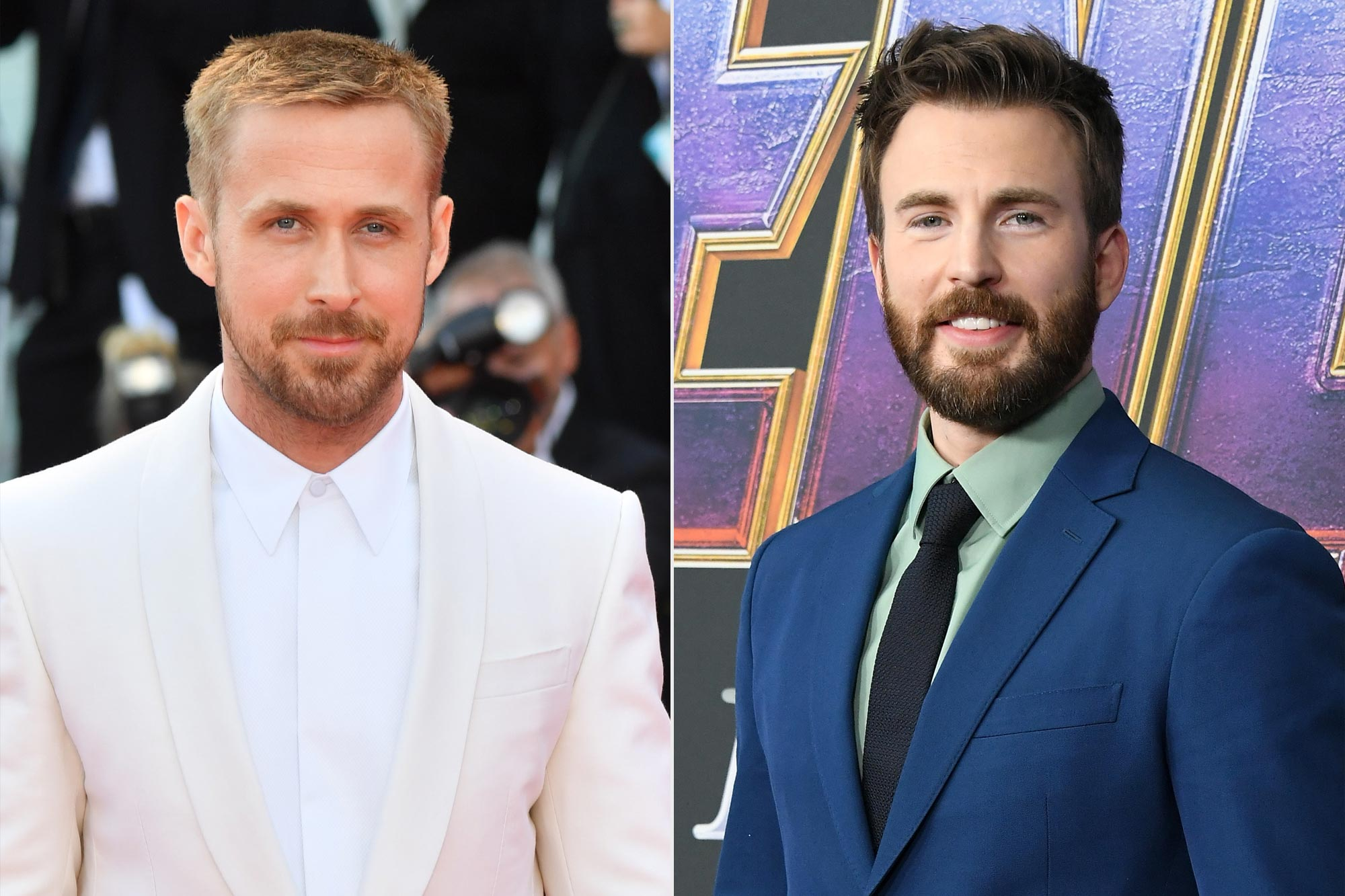 Ryan Gosling, Chris Evans