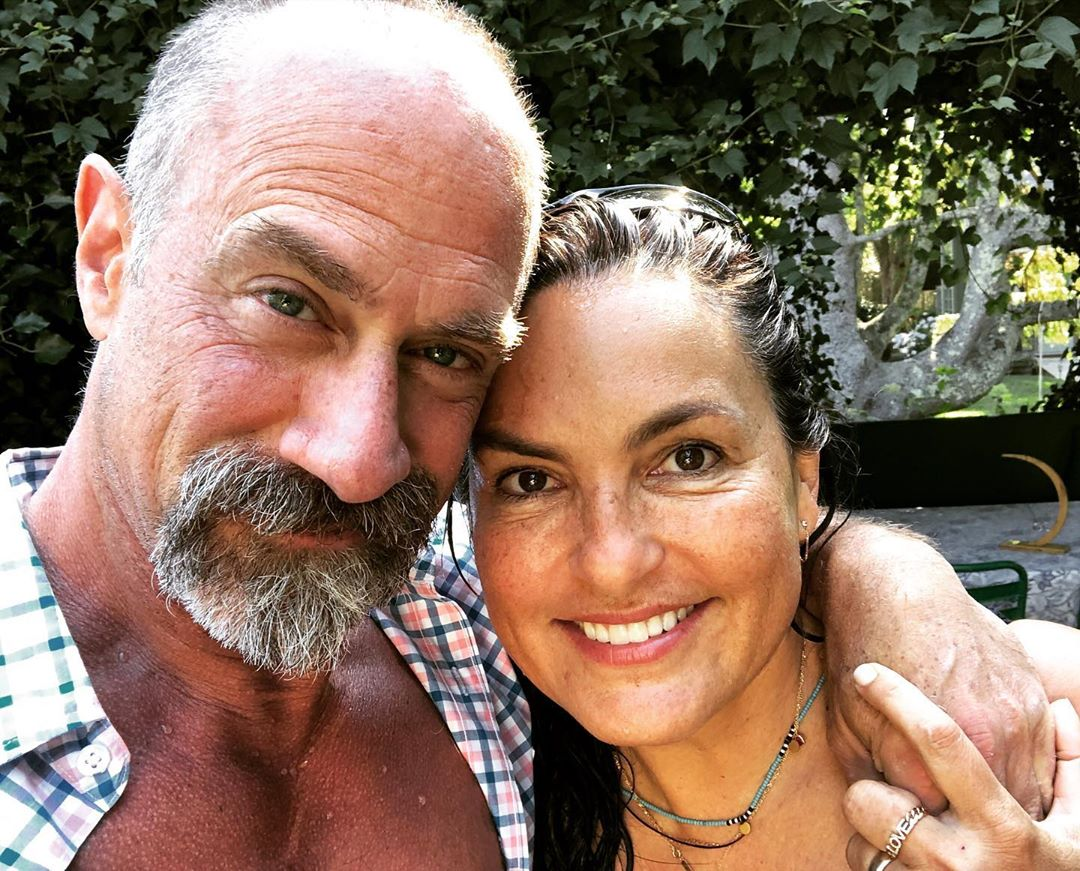 Christopher Meloni and Mariska Hargitay