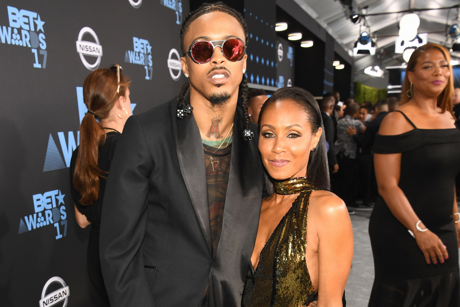 August Alsina; Jada Pinkett Smith