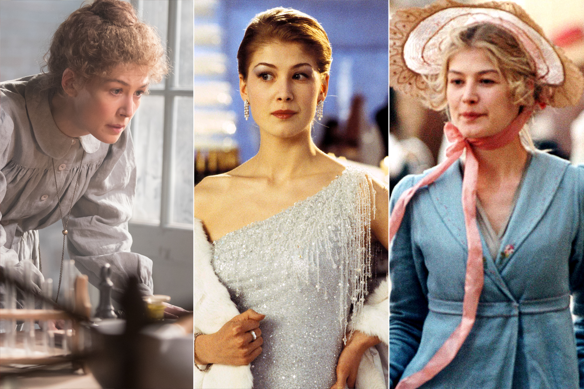 Rosamund Pike Role Call