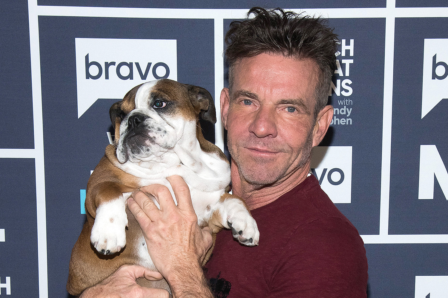 Dennis Quaid dog