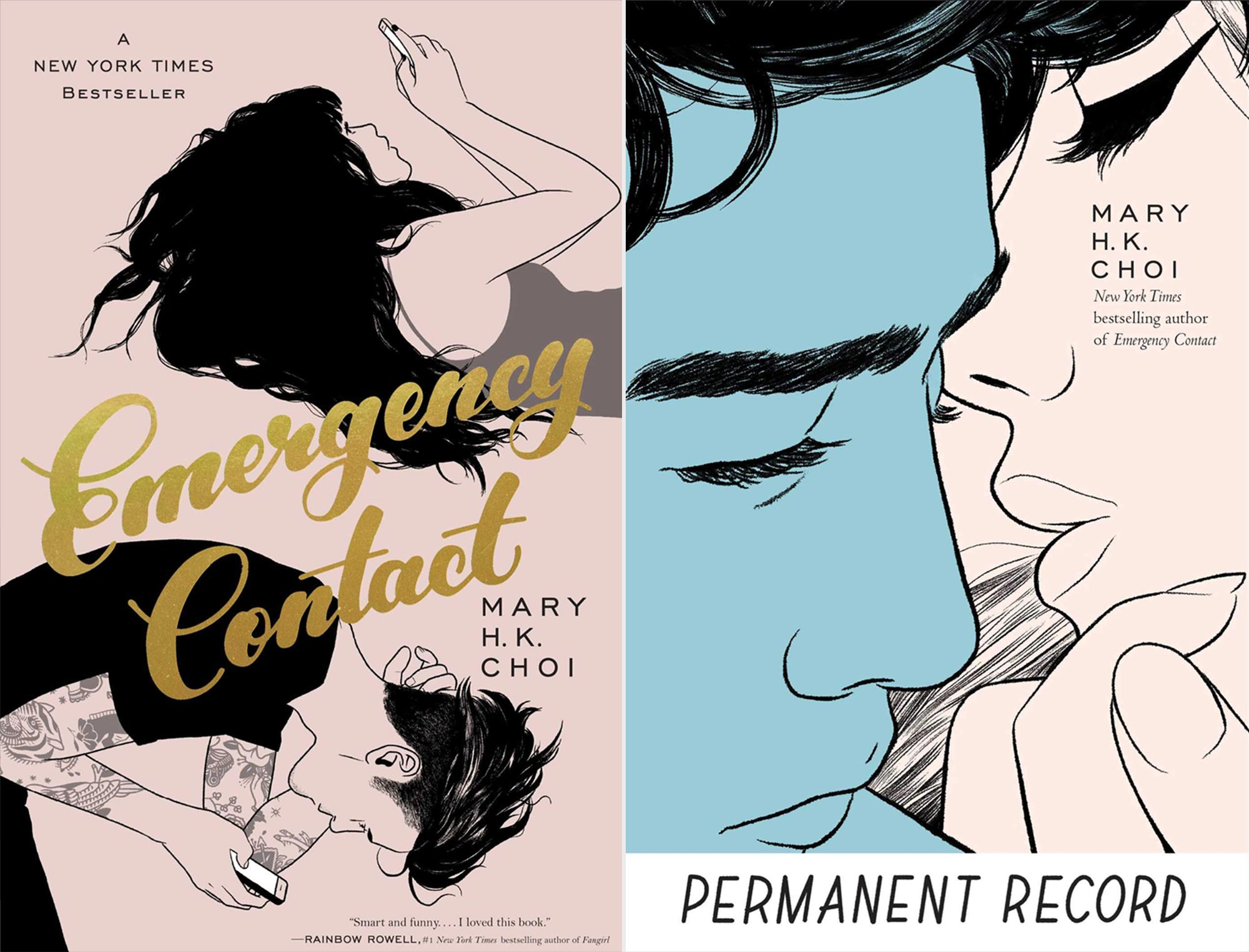 Emergency Contact and Permanent Record by Mary HK Choi