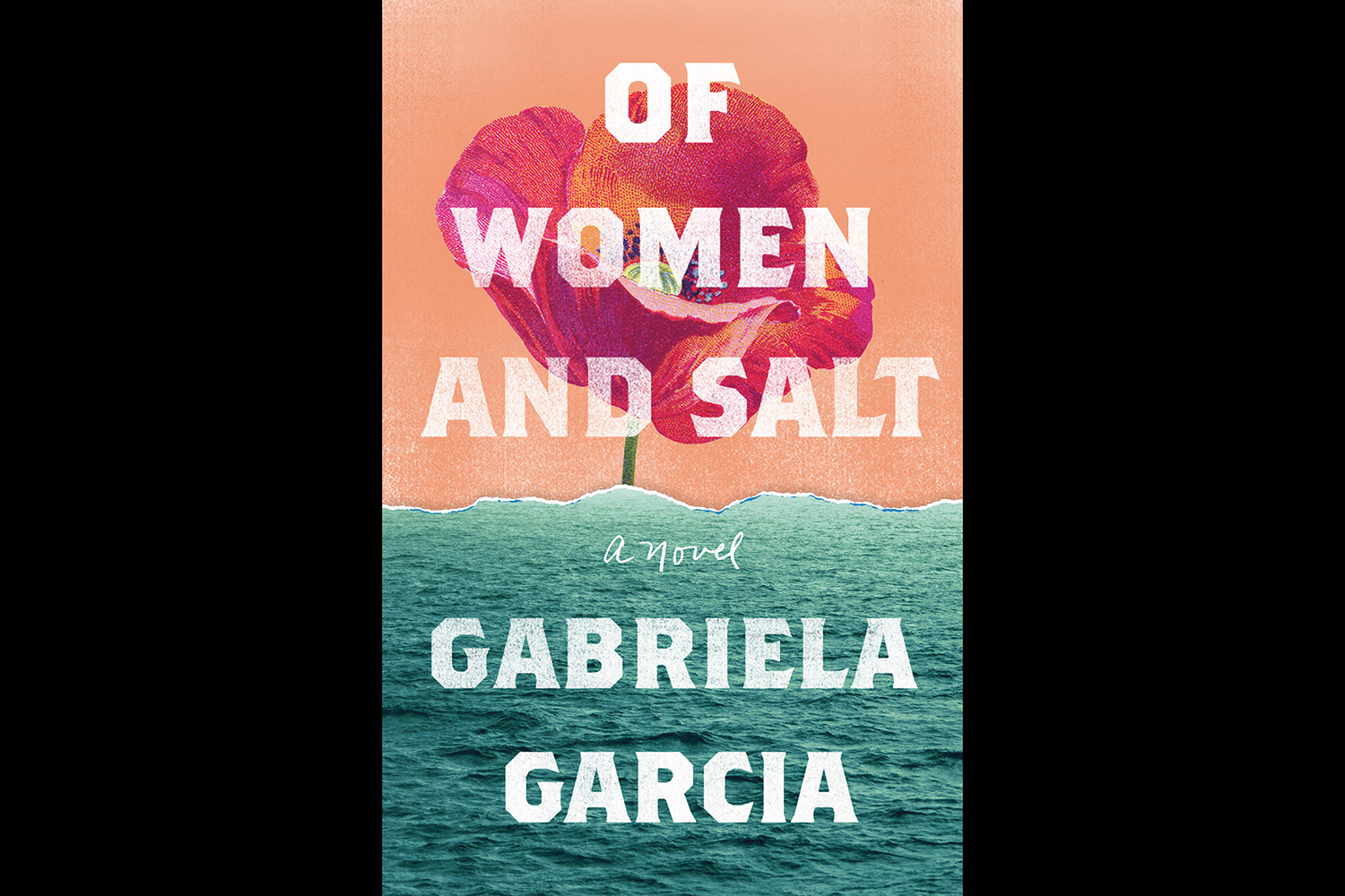 of woman and salt