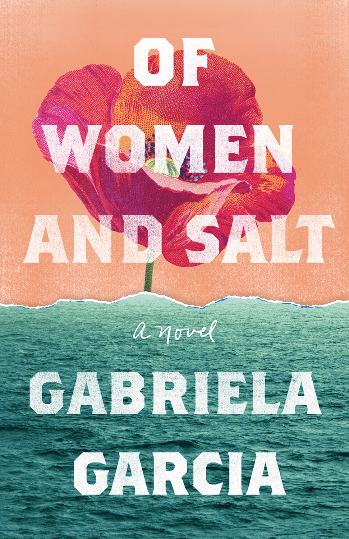 of woman and salt