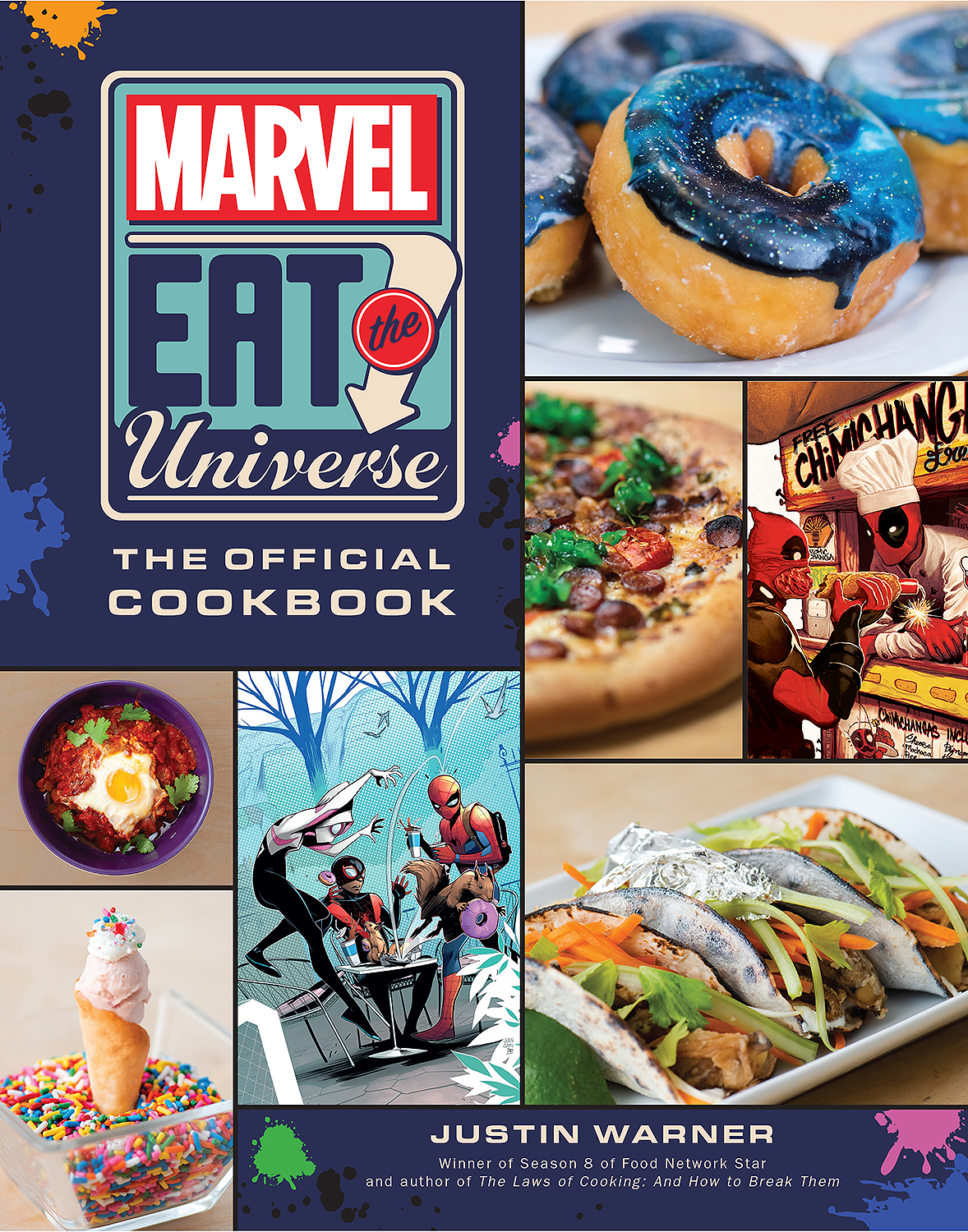 Marvel cookbook