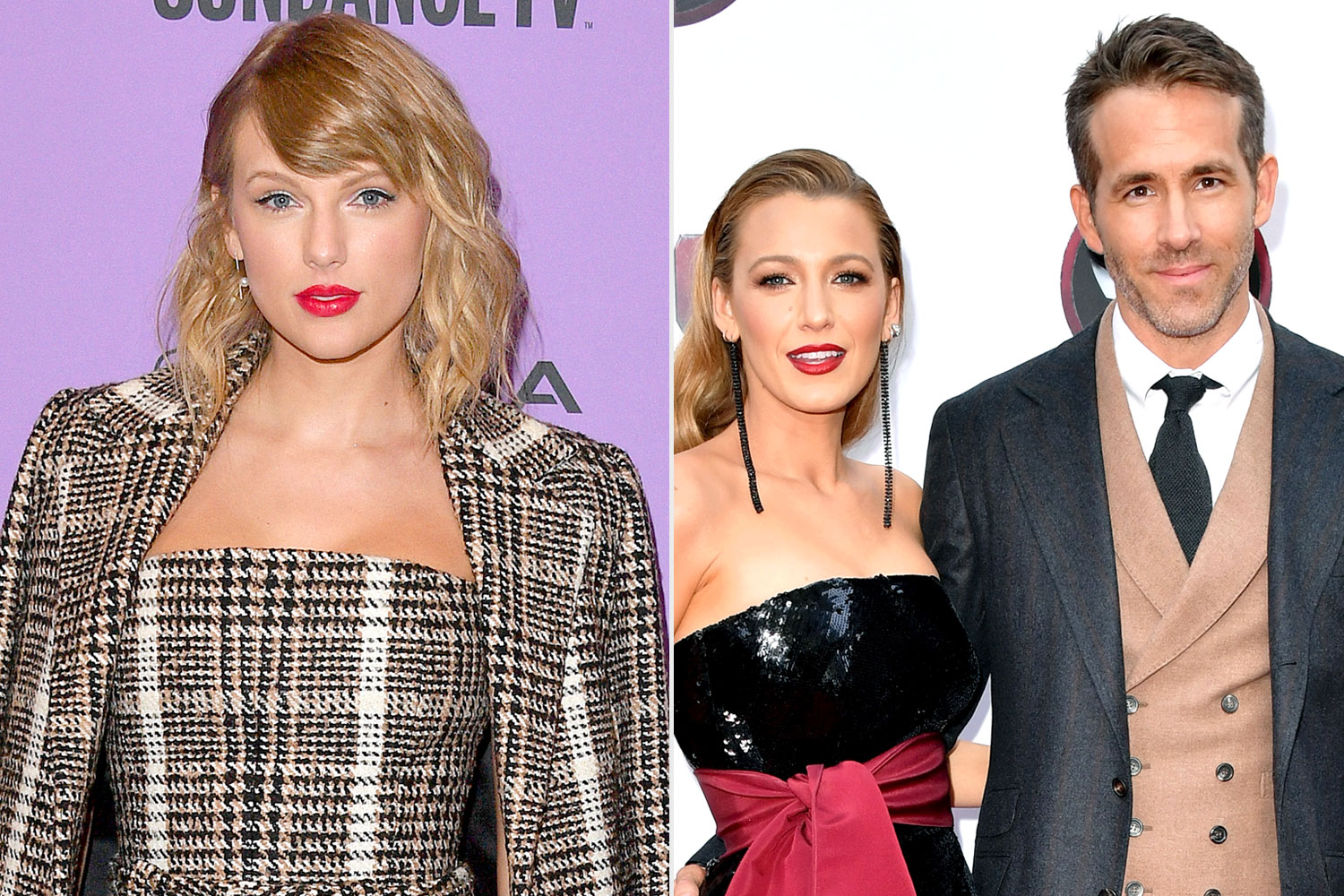 Taylor Swift, Blake Lively, Ryan Reynolds