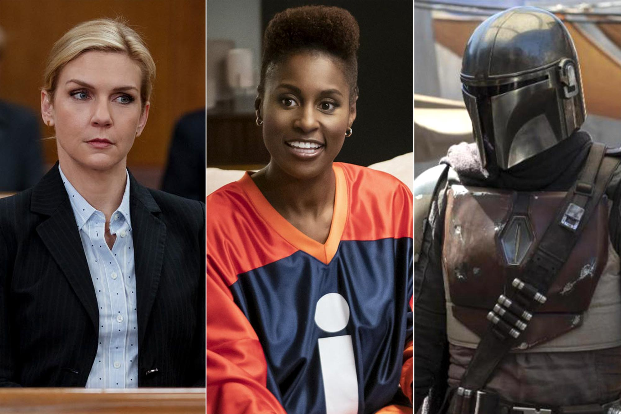 Better Call Saul, Insecure, The Mandalorian