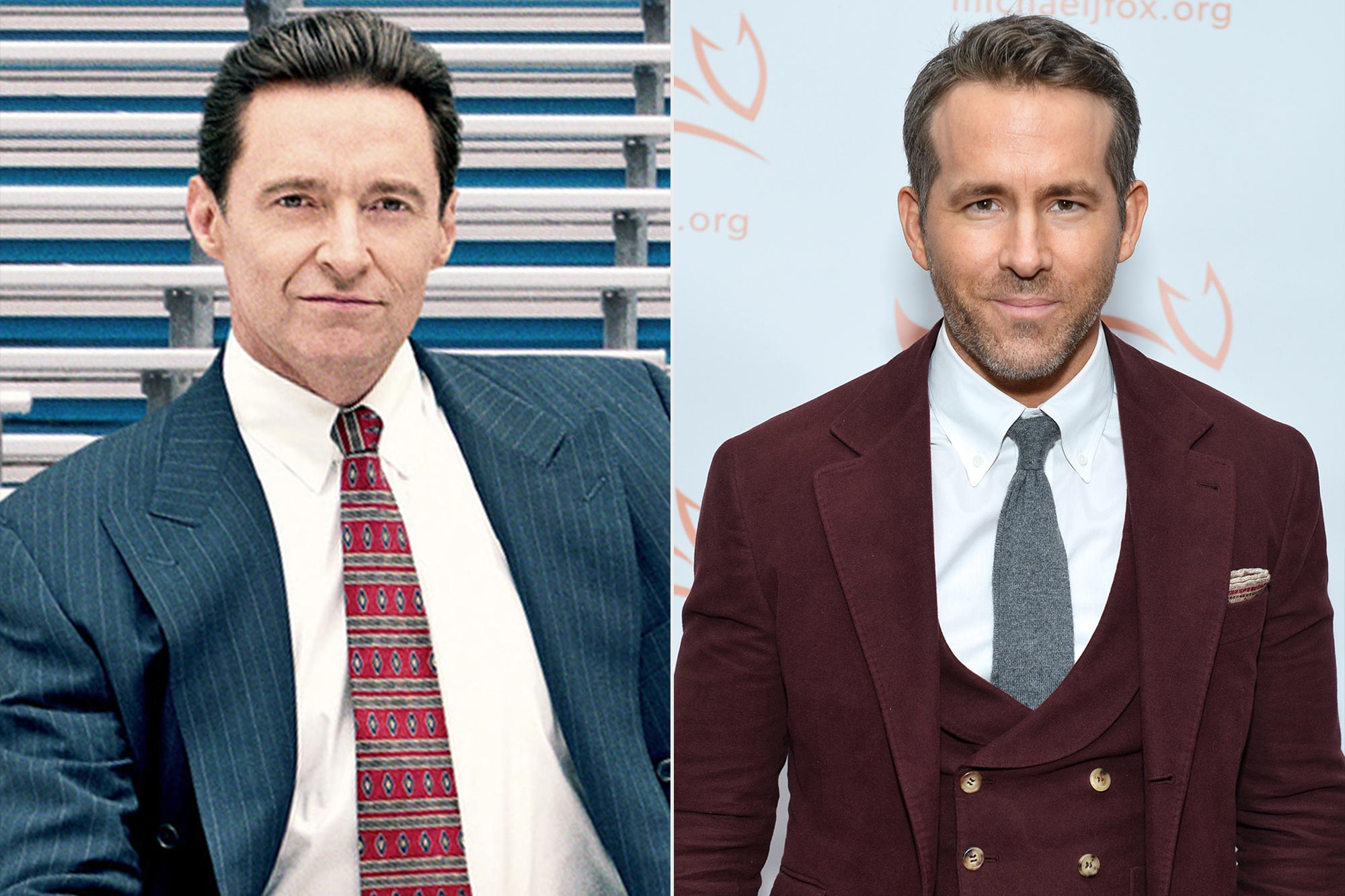 Hugh Jackman; Ryan Reynolds