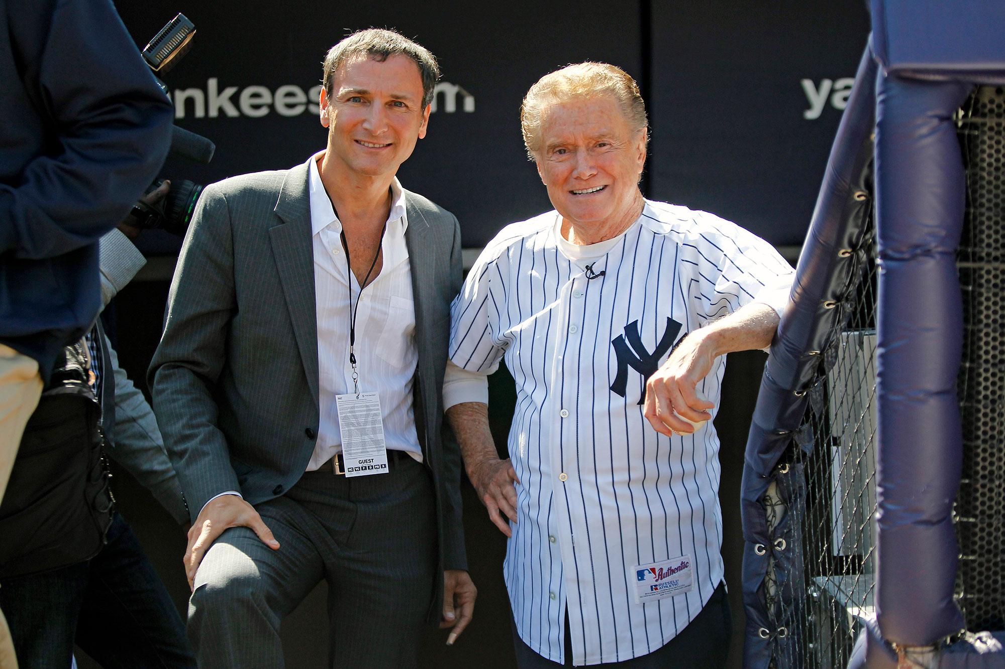 Michael Gelman and Regis Philbin