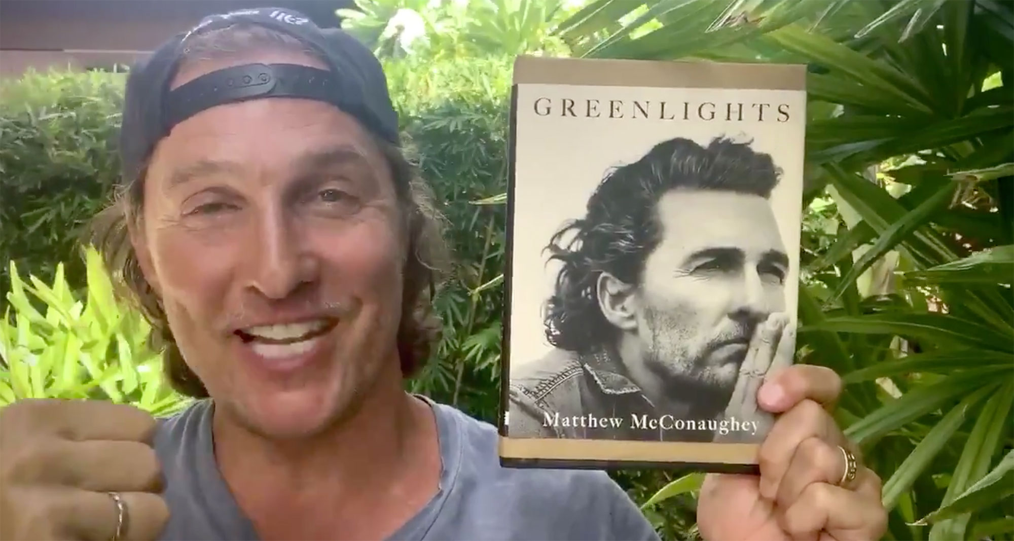 "Matthew McConaughey to Release Memoir, ""Greenlights,"" in October"