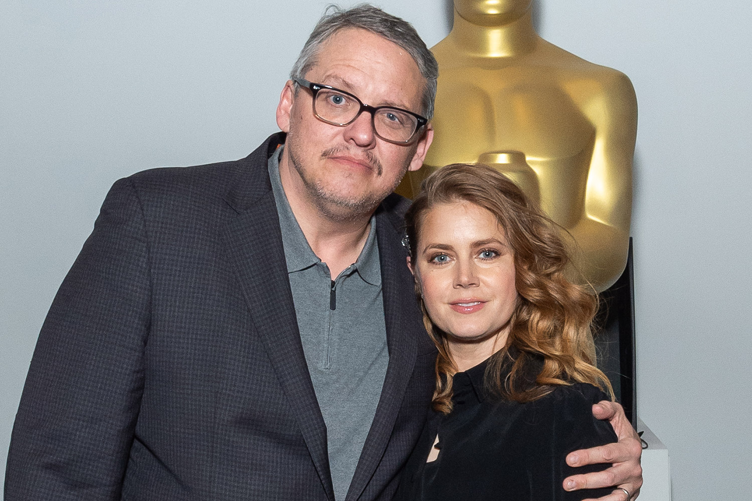 Amy Adams and Adam McKay