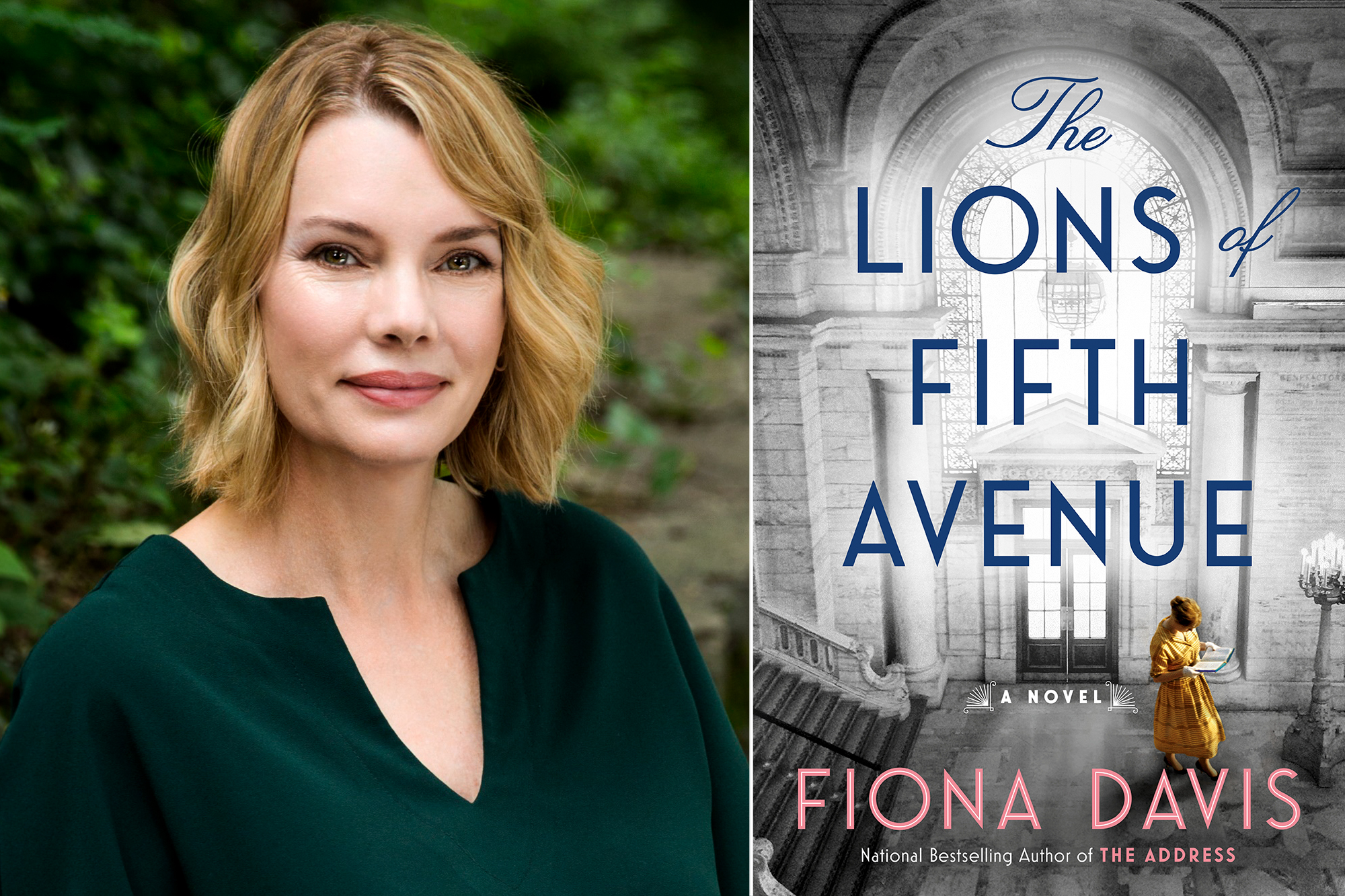 Fiona Davis, The Lions of Fifth Avenue