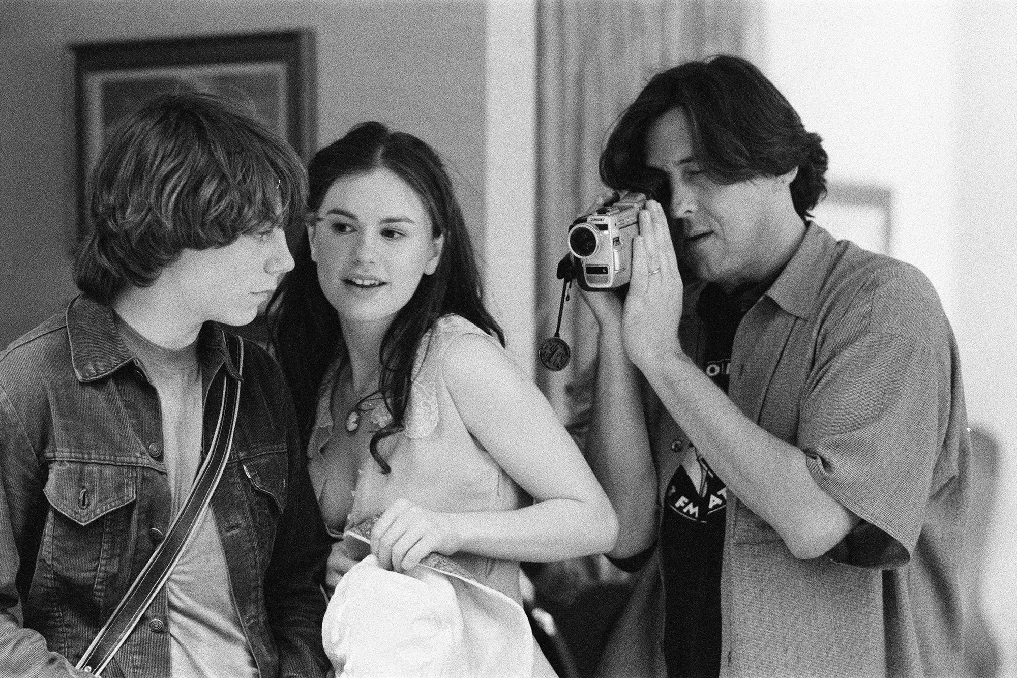 Almost Famous Patrick Fugit, Anna Paquin and Cameron Crowe