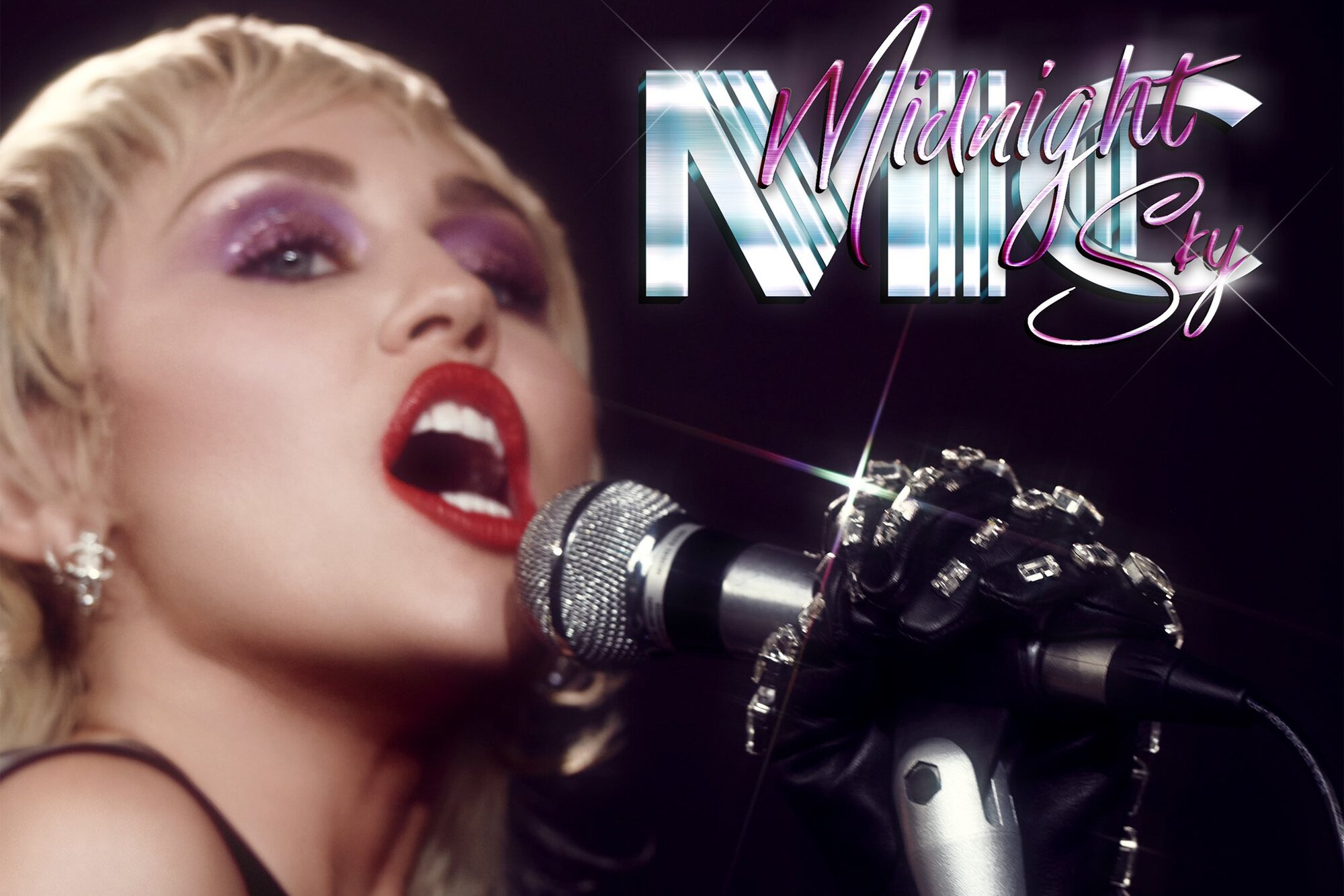 Miley Cyrus Teases Upcoming Album With New Single Midnight Sky She Is Finally Here Ew Com