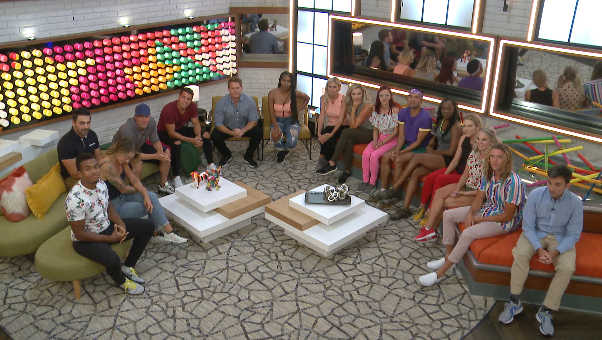 BIG BROTHER, the All-Star cast is revealed as they move into the house, during the two-hour live event: Wednesday, August 5