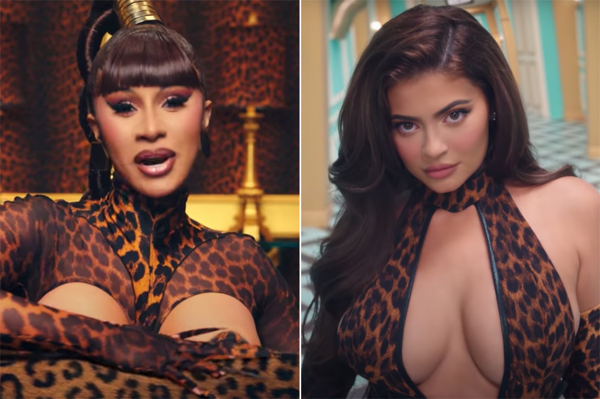 Cardi B Defends Kylie Jenner Being In Her Wap Video Ew Com