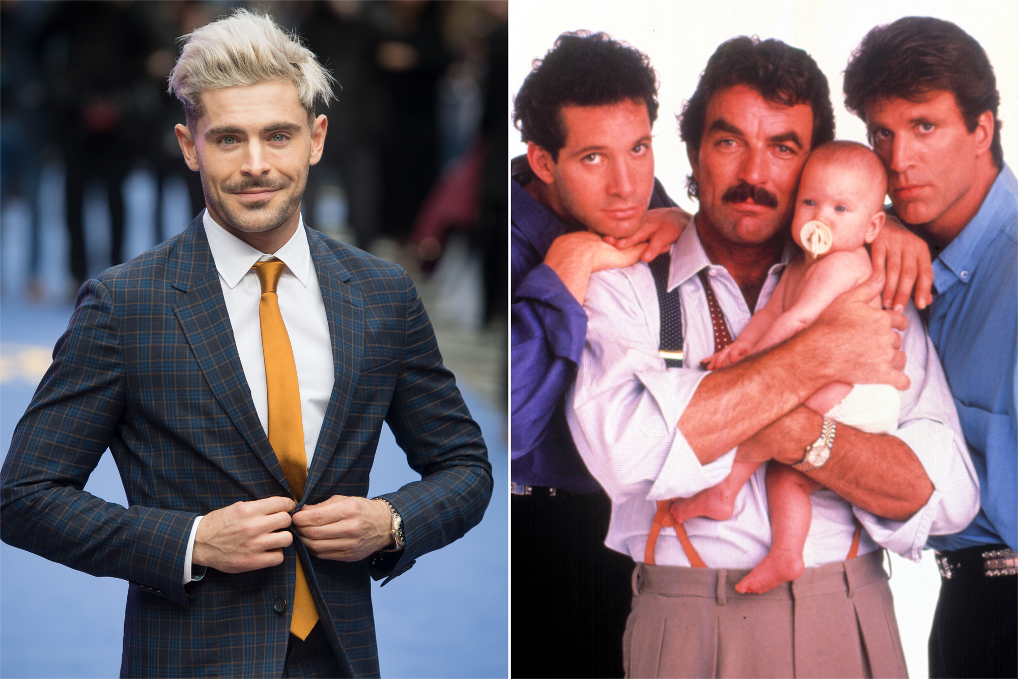 Zac Efron, THREE MEN AND A BABY
