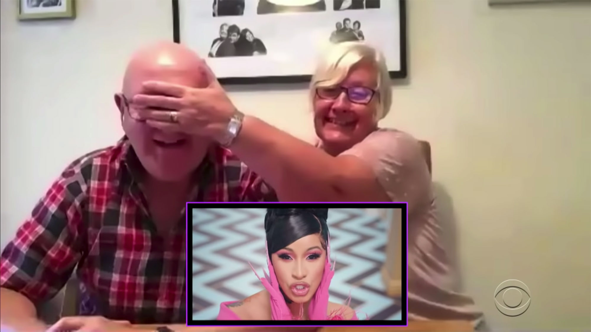 James Corden's Parents Watch the 'WAP' Video