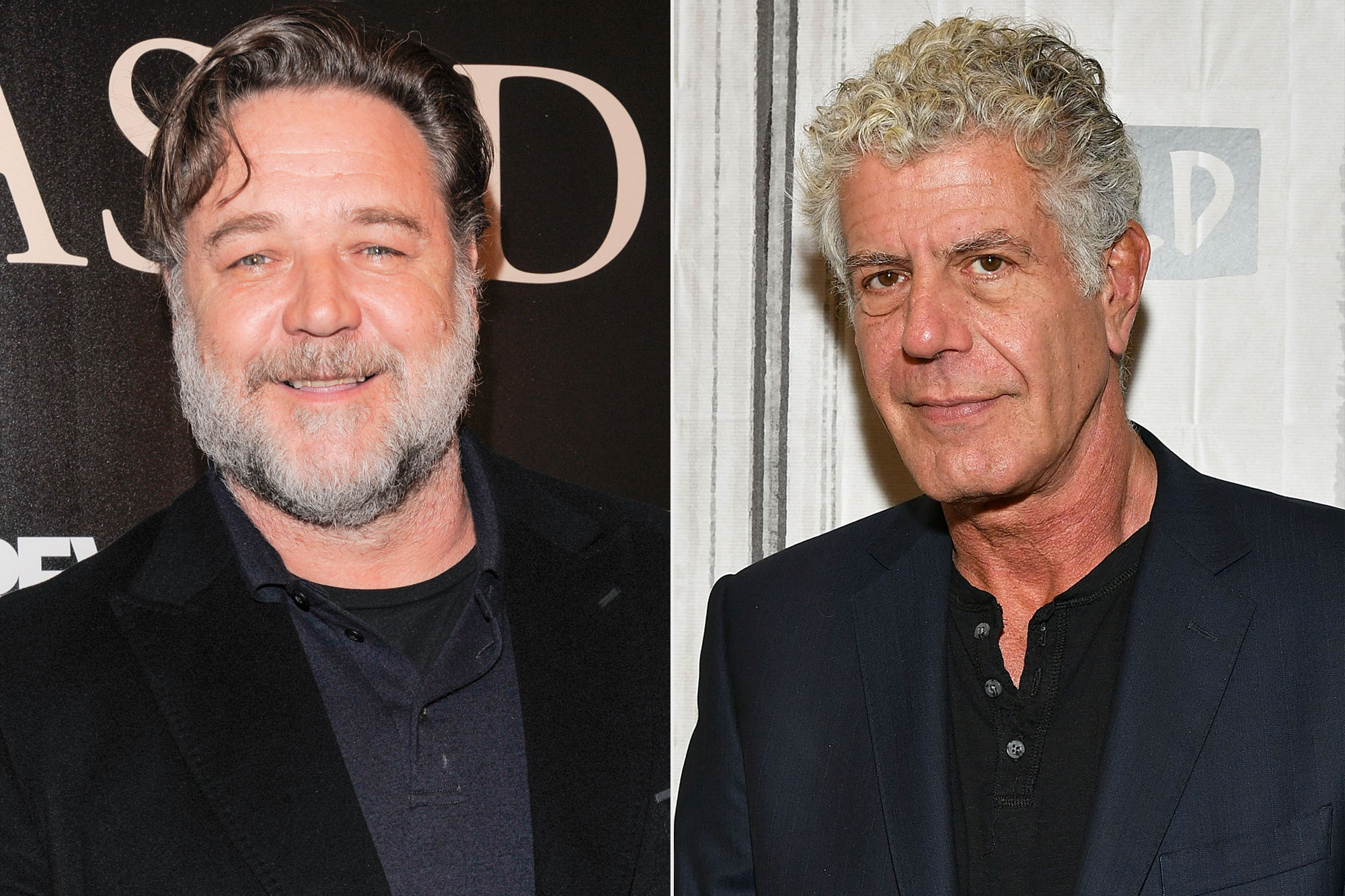 Russell Crowe, Anthony Bourdain