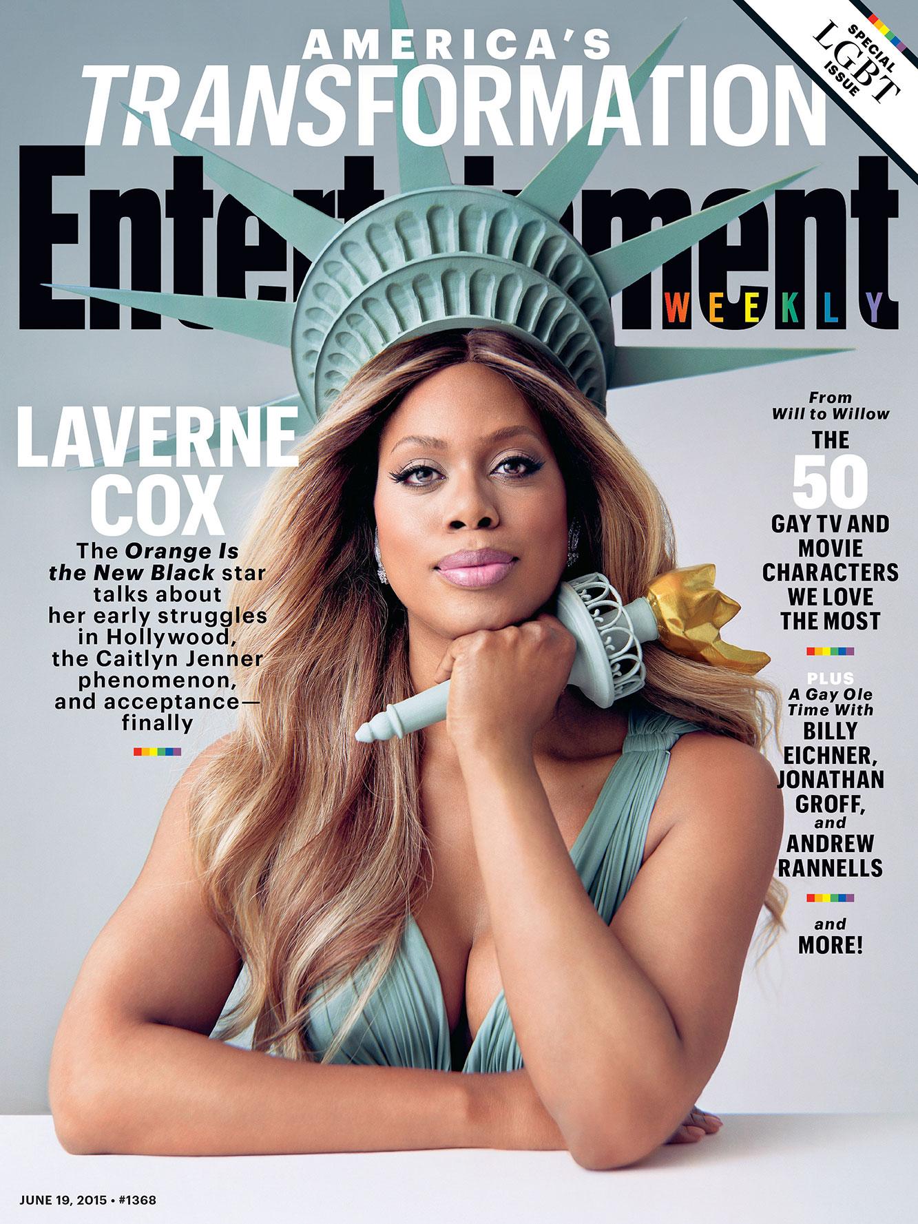 Laverne Cox EW Cover