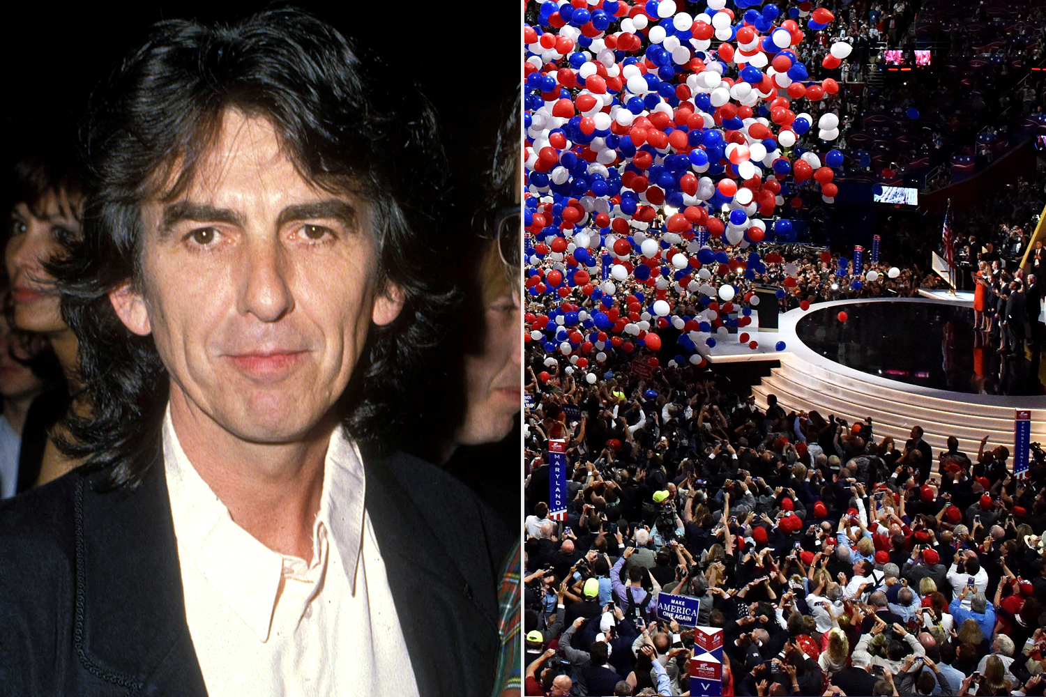 George Harrison; Republican National Convention on July 21, 2016