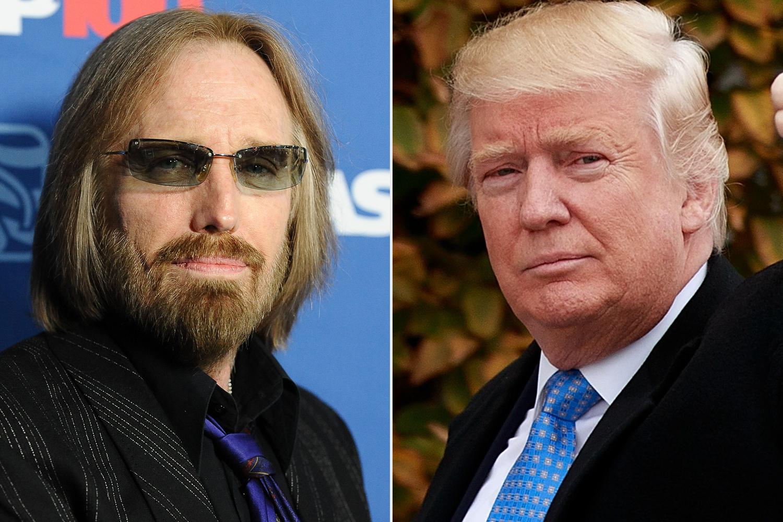 Tom Petty; Donald Trump